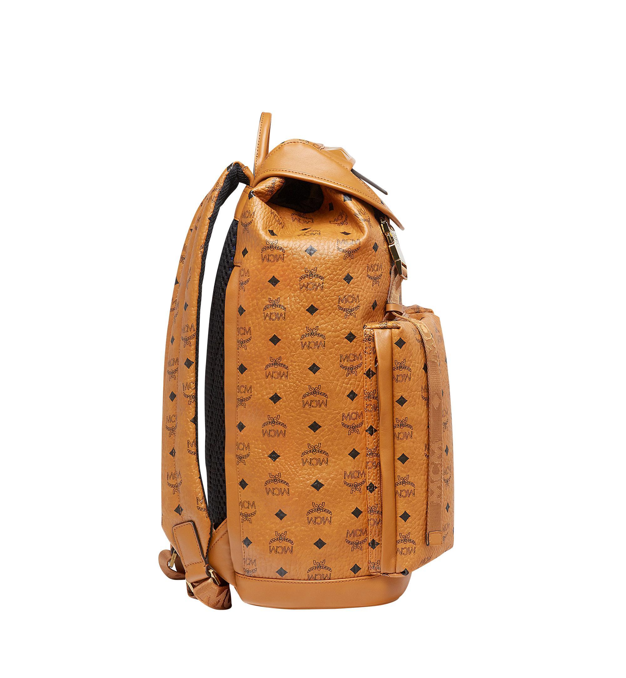 7f10a8963447 MCM Kreuzberg Backpack In Visetos for Men - Lyst