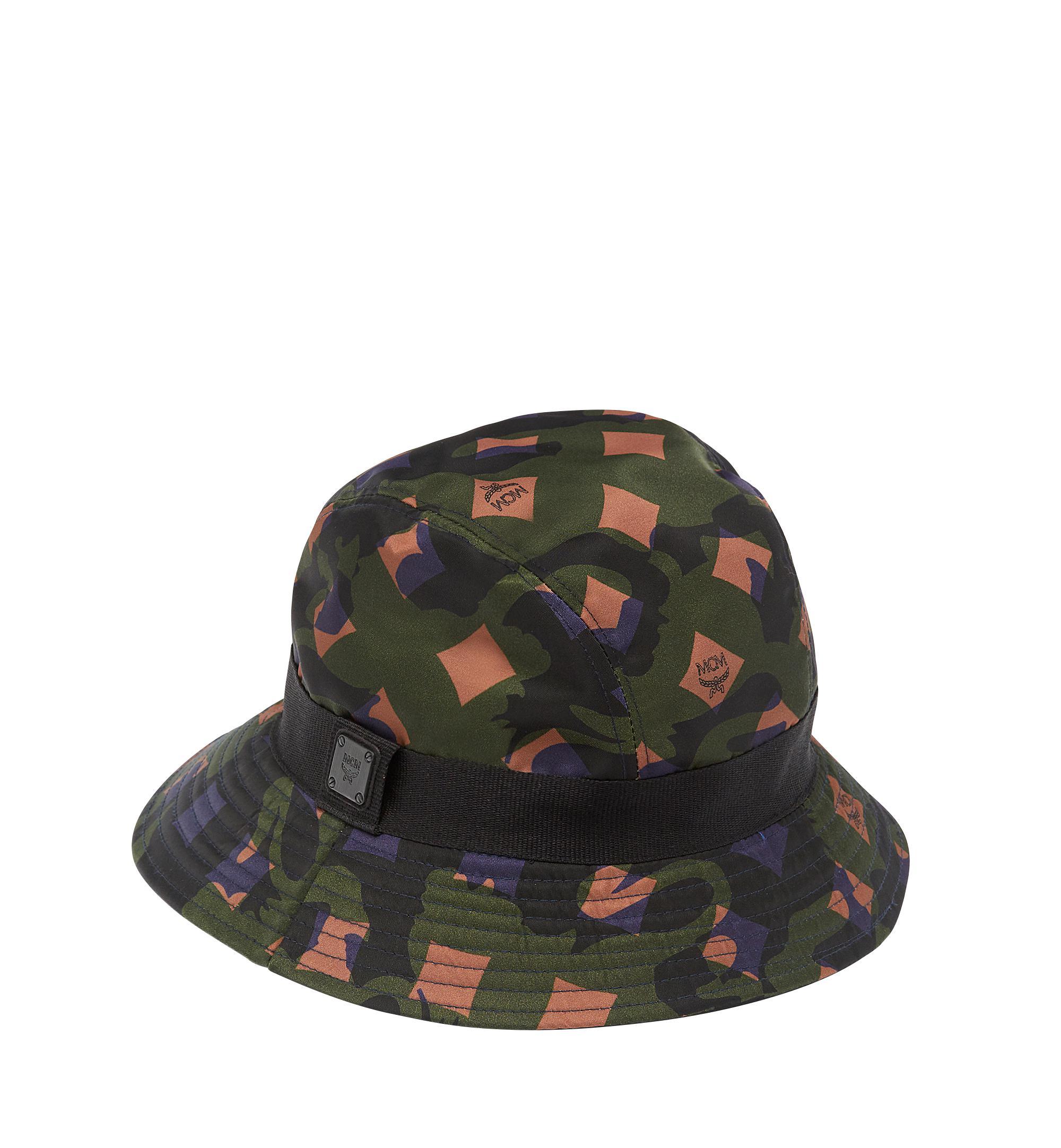Lyst - MCM Bucket Hat In Camo Nylon in Green c4f5a6104b0d