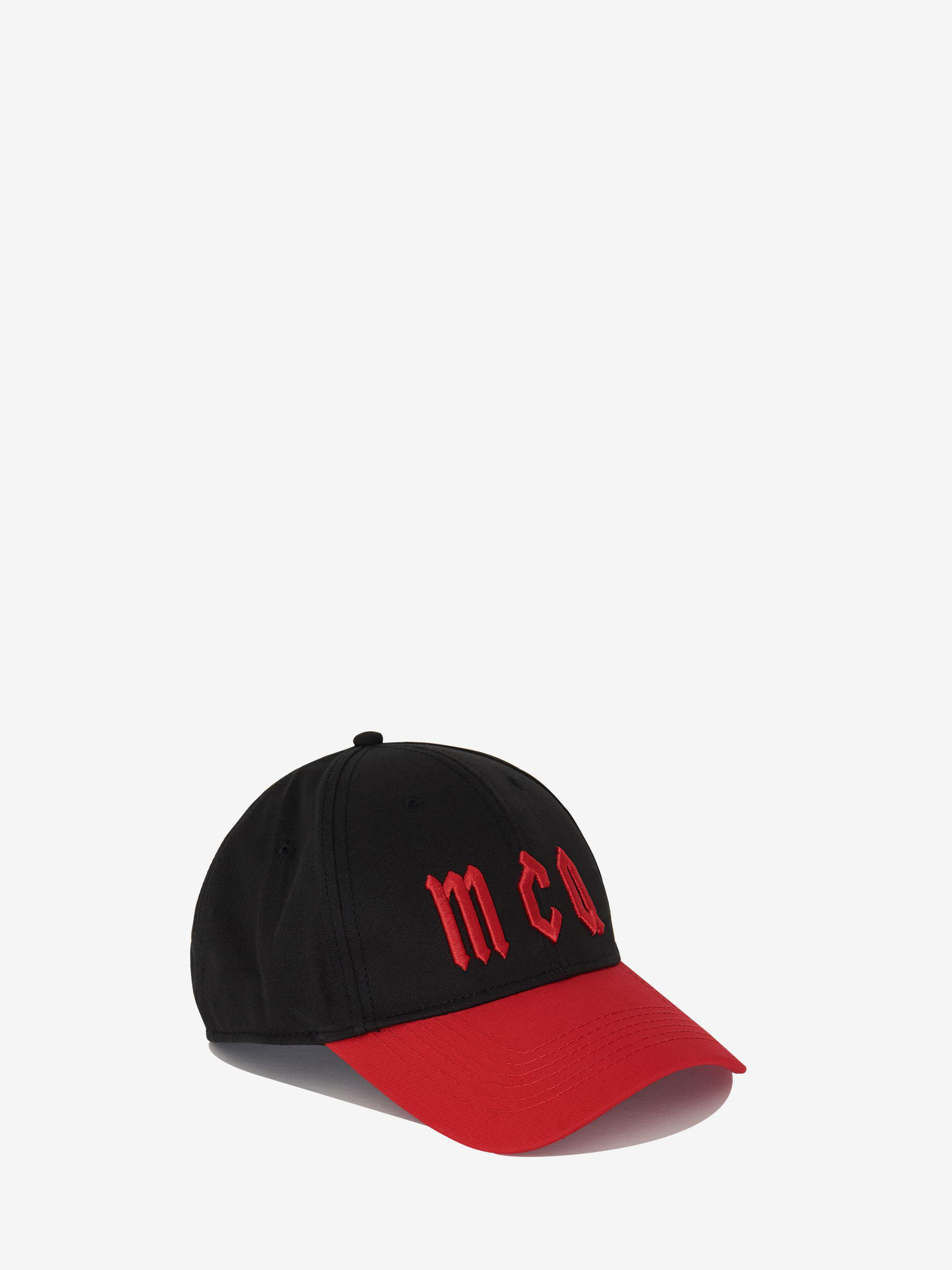 Mcq Alexander Mcqueen Mcq Gothic Logo Baseball Cap in Black for Men ... 7d9284b0329d