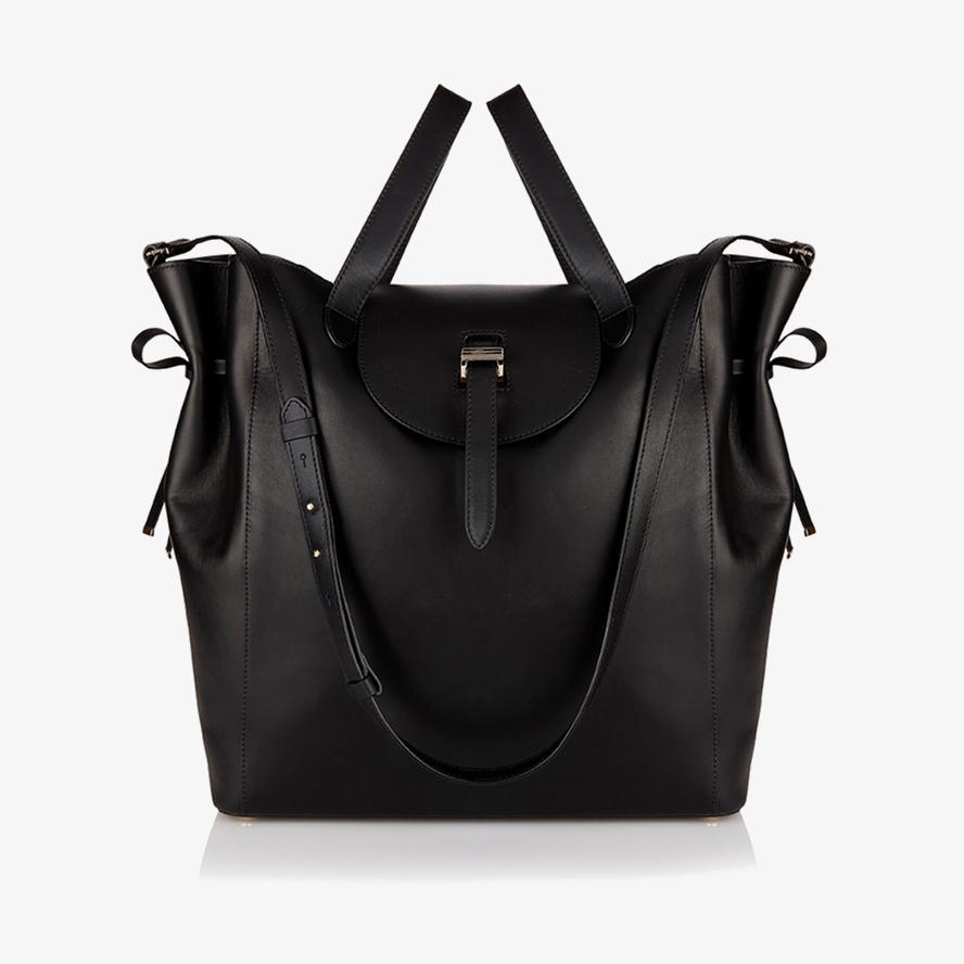0639117ad142 Lyst - meli melo Fleming Tote Bag Black in Black