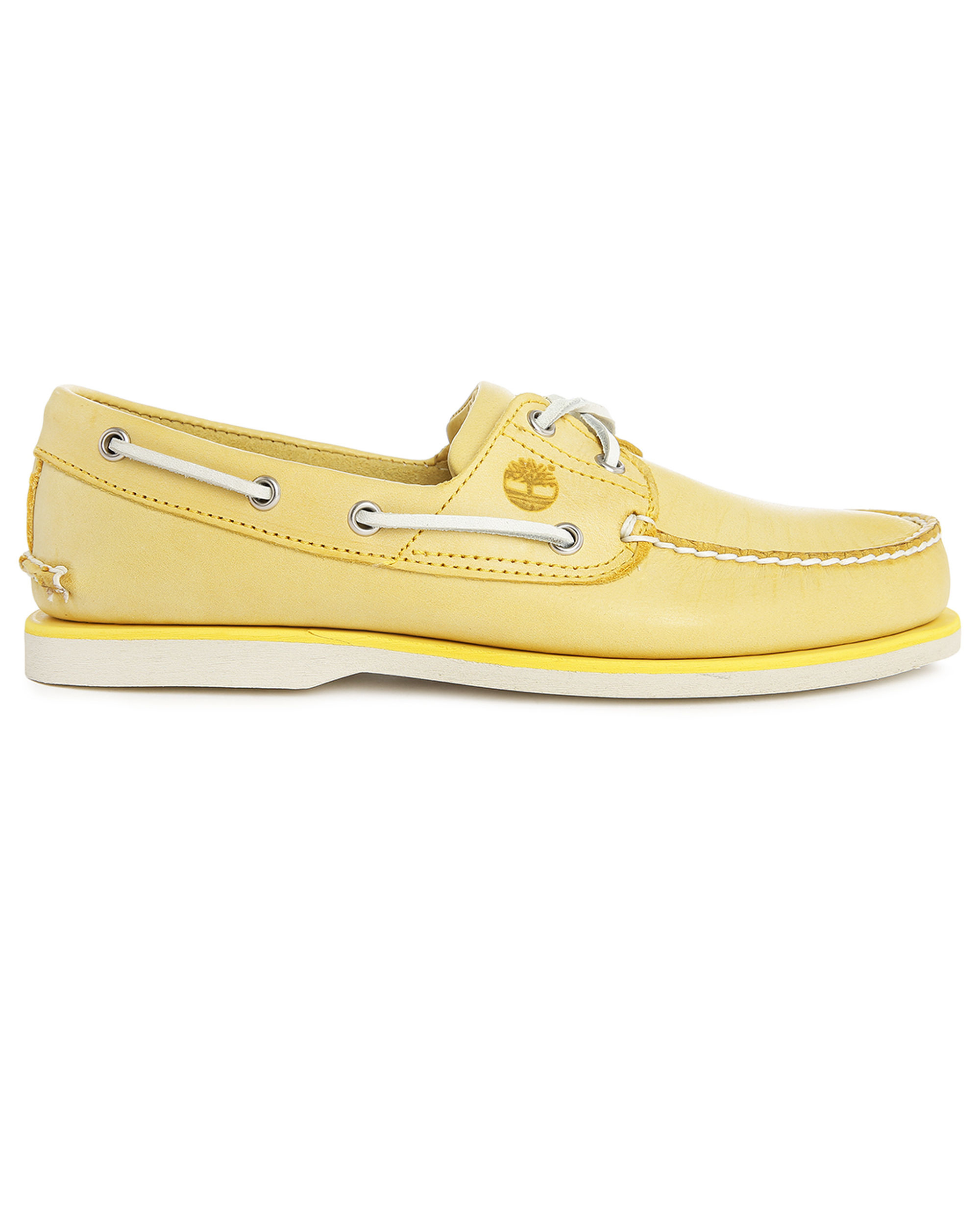 Timberland Blue Yellow Sole Boat Shoe