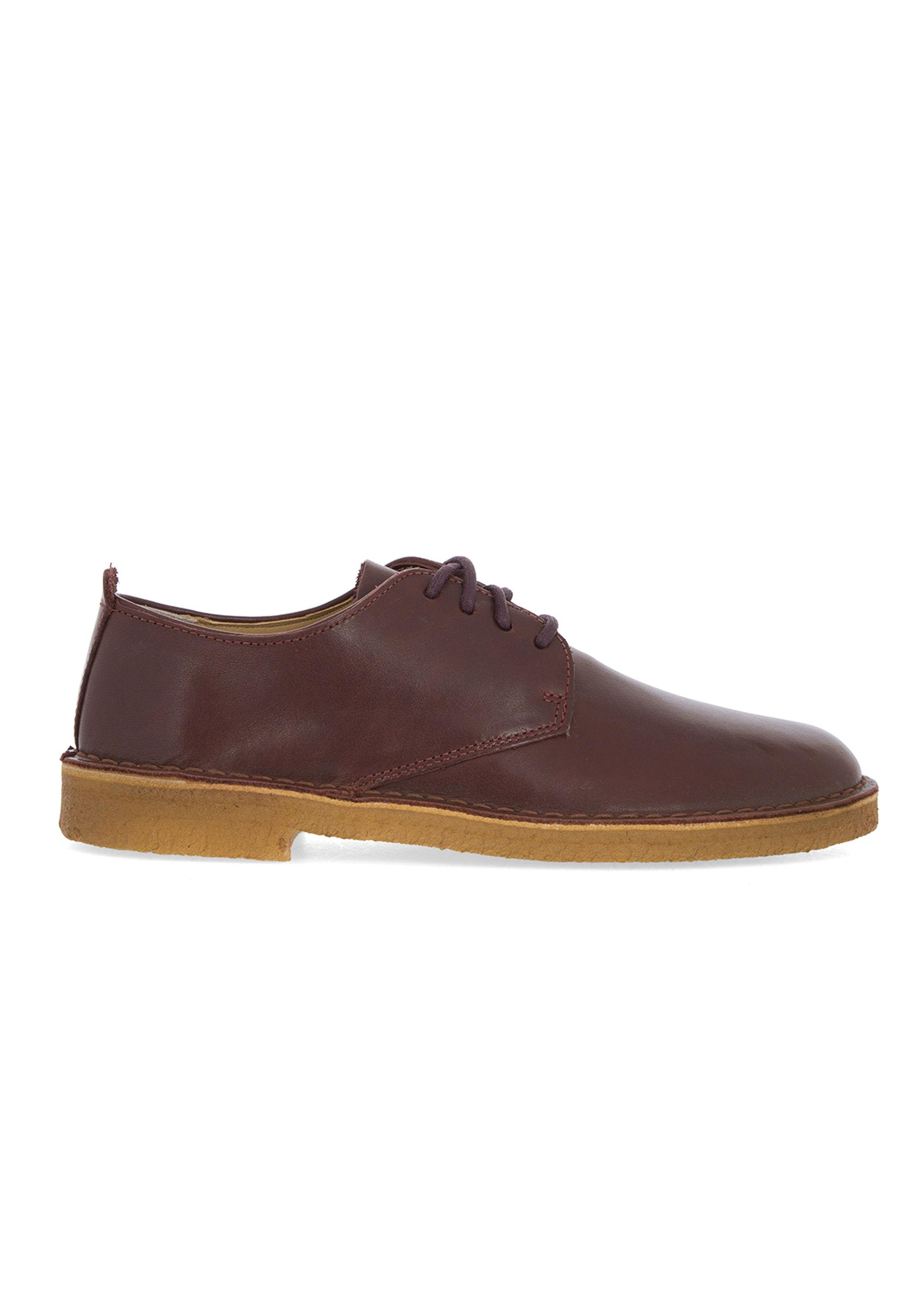 clarks light brown suede desert boots in brown for