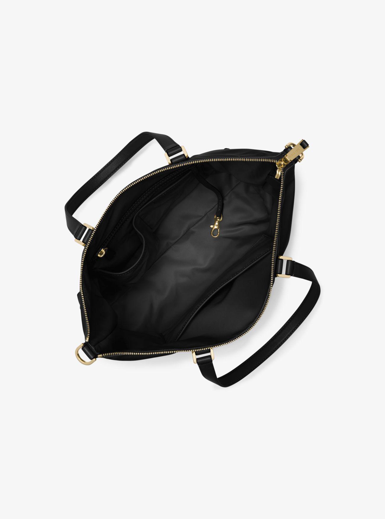 47de2a72b0e1 Michael Kors Ariana Large Nylon Tote Bag in Black - Lyst