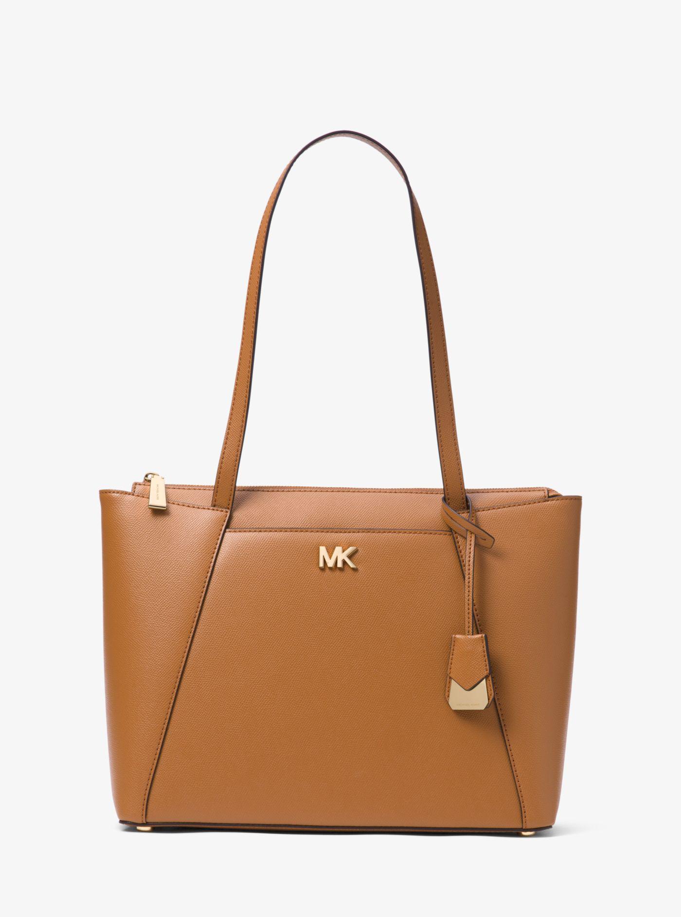 Michael Kors Brown leather Maddie bag 9a8UqKo19n