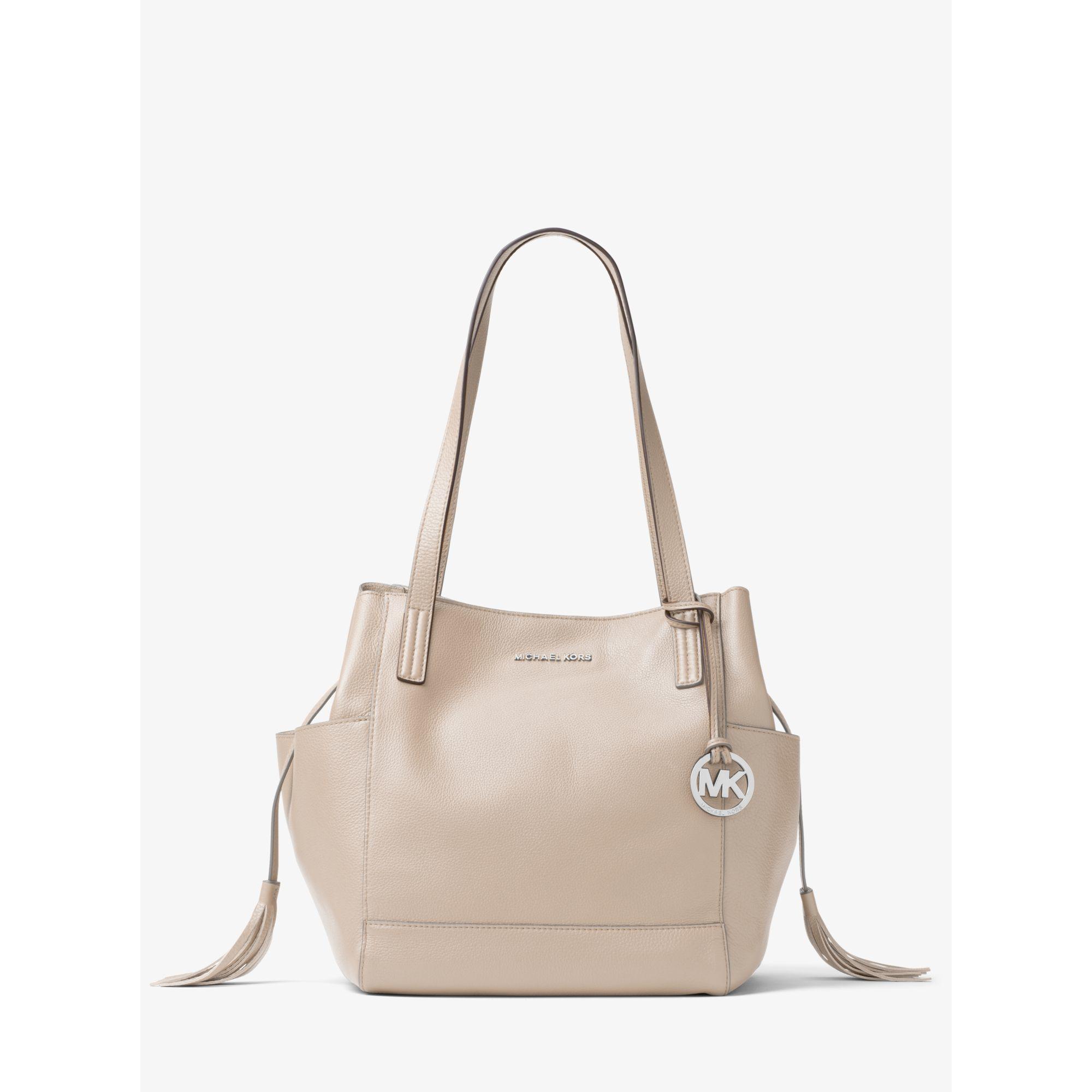 532c5c04e3ae Lyst - Michael Kors Ashbury Large Leather Shoulder Bag