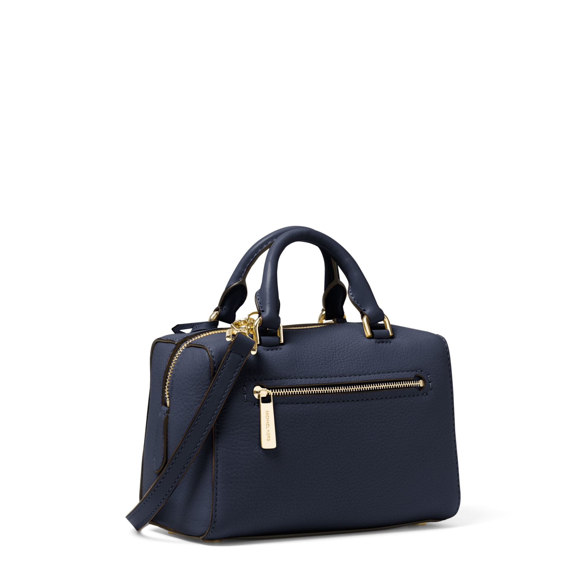 26923dbbbe84 Michael Kors Kirby Extra-small Leather Satchel in Blue - Lyst