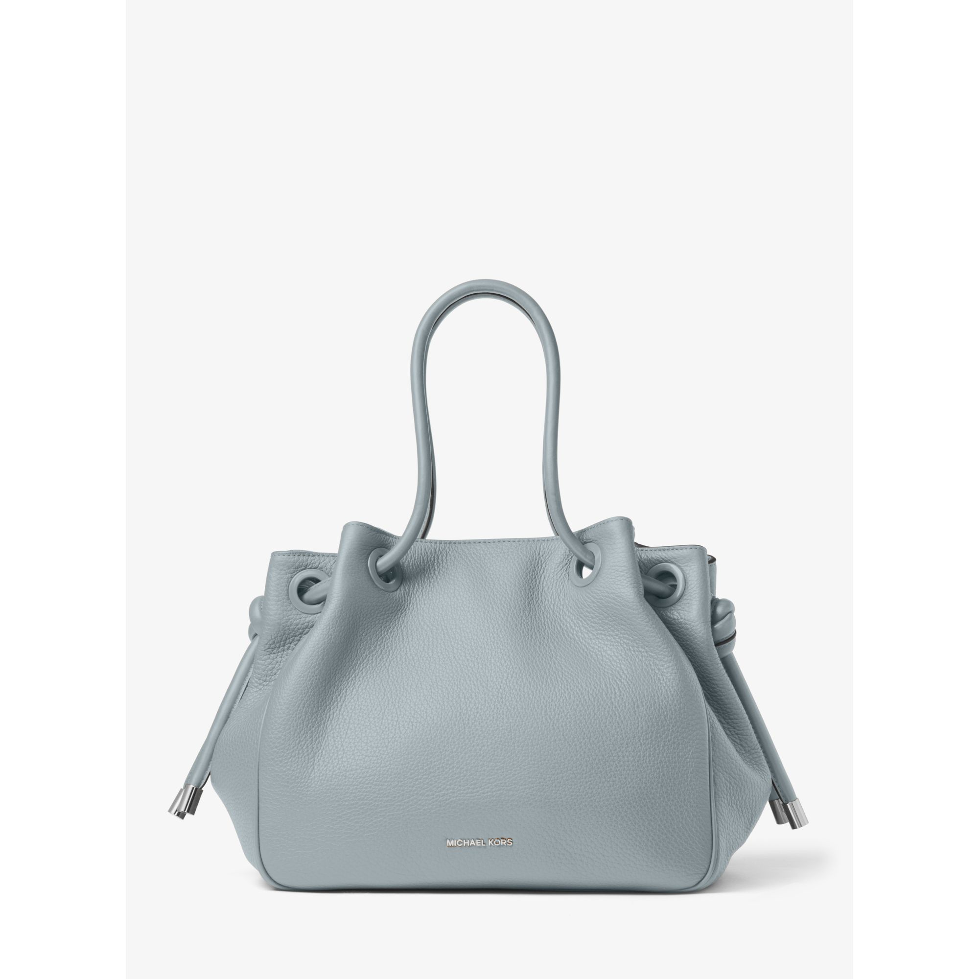 9114d9dd0111 Michael Kors Dalia Large Leather Tote in Blue - Lyst