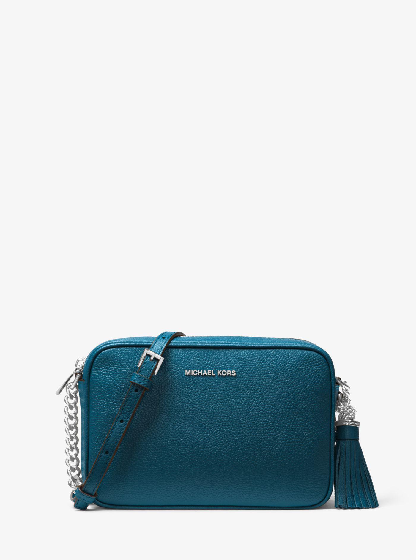 ... Blue Ginny Leather Crossbody - Lyst. View fullscreen 7618438eb5a1a
