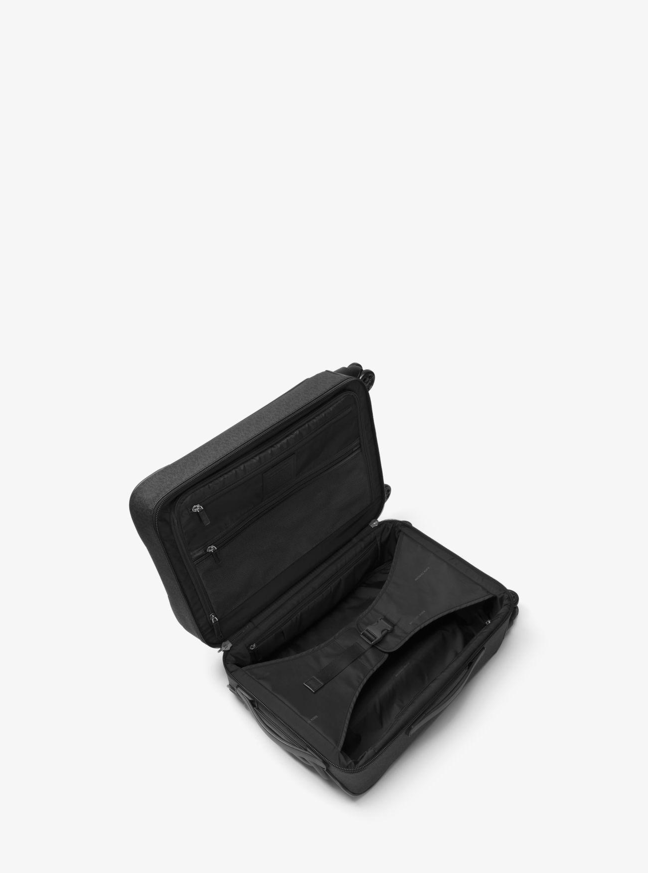 0006ad09e2d8 Michael Kors - Black Jet Set Travel Logo Suitcase for Men - Lyst. View  fullscreen