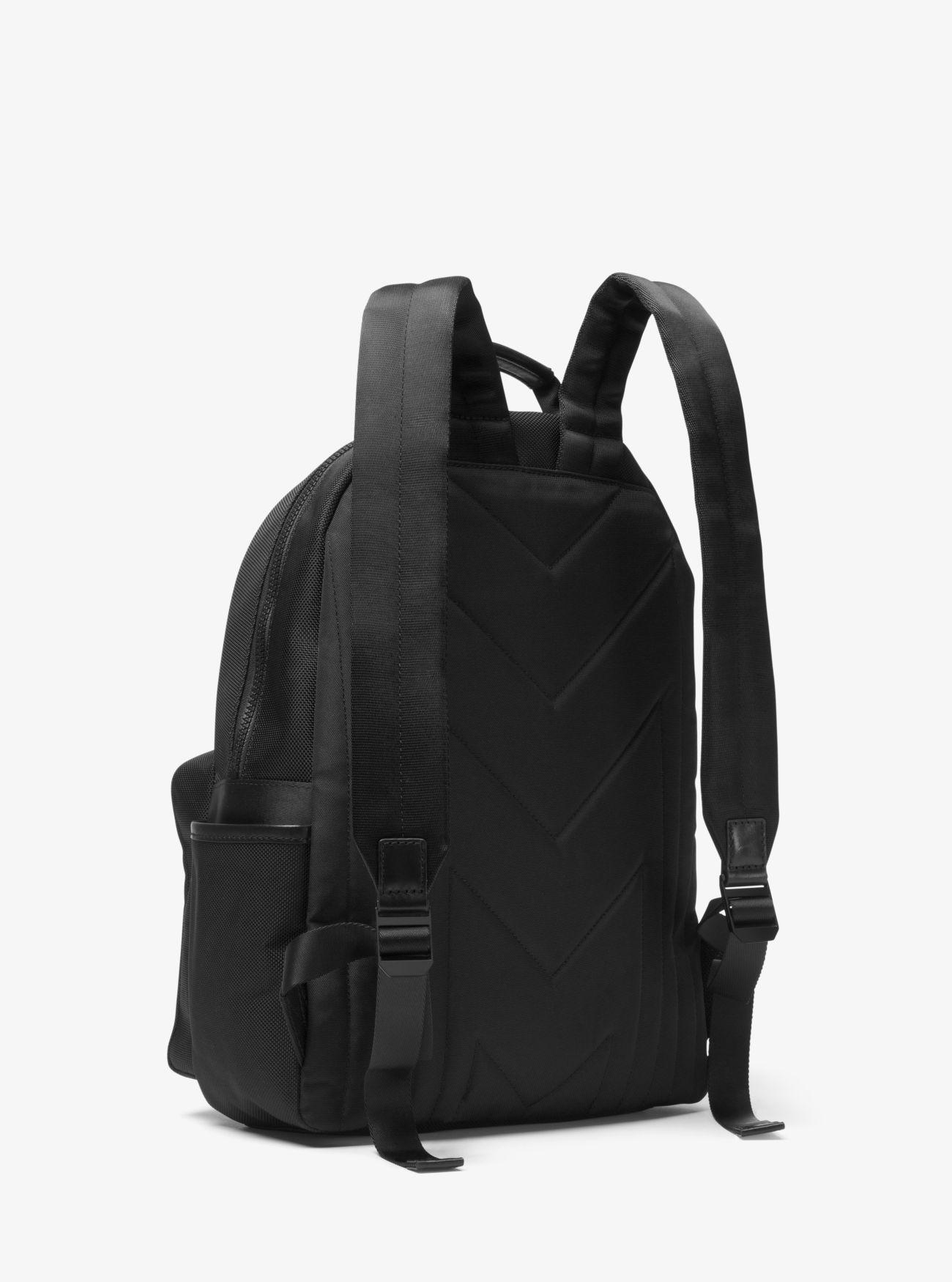 3c34f1a468bb3c Michael Kors - Black Travis Nylon Backpack for Men - Lyst. View fullscreen