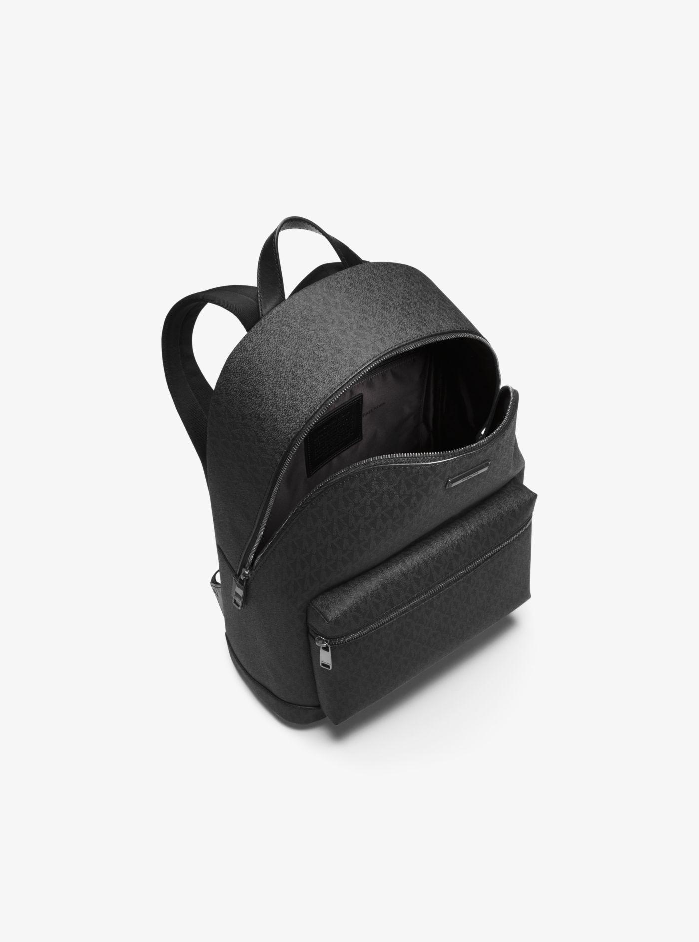 e9d59a80e2bf Michael Kors - Black Jet Set Logo Backpack for Men - Lyst. View fullscreen