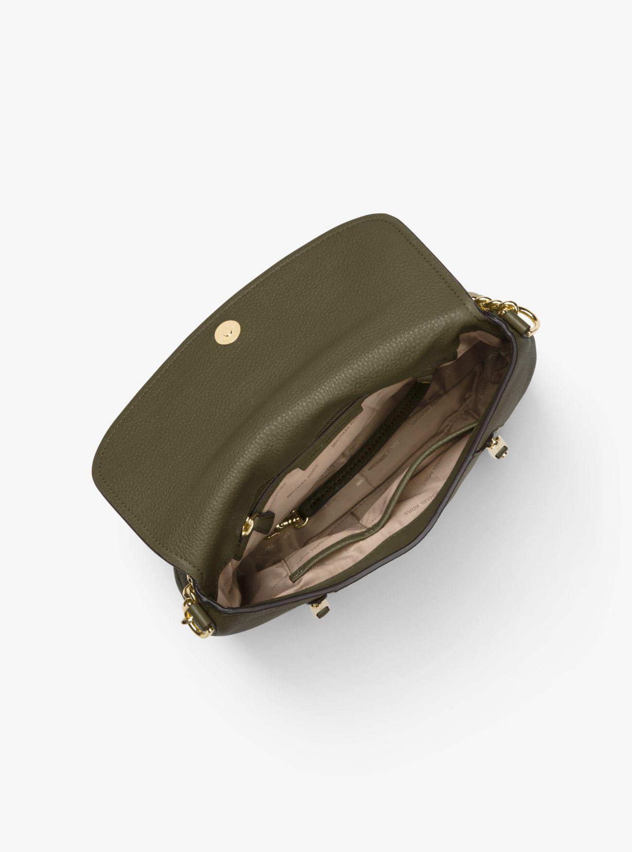 ddb4666c1291 Lyst - MICHAEL Michael Kors Evie Medium Pebbled Leather Shoulder Bag ...