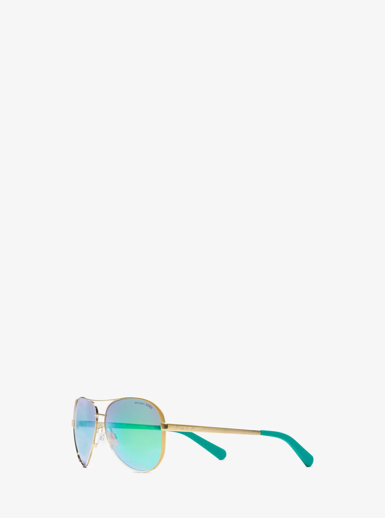 ec2a72390d10 spain tote michael kors metallic chelsea sunglasses lyst. 49802 45b11