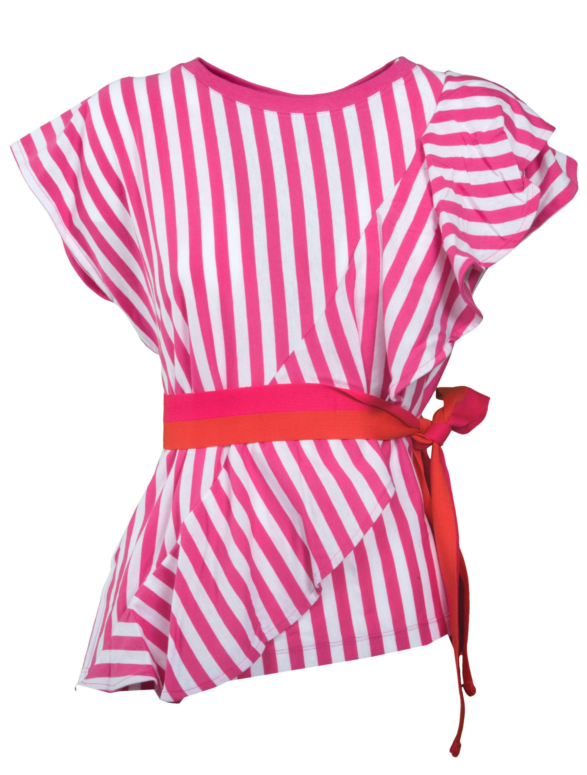 Cheap Find Great Fast Express striped ruffle blouse - Pink & Purple Golden Goose HxLdbAOY3n