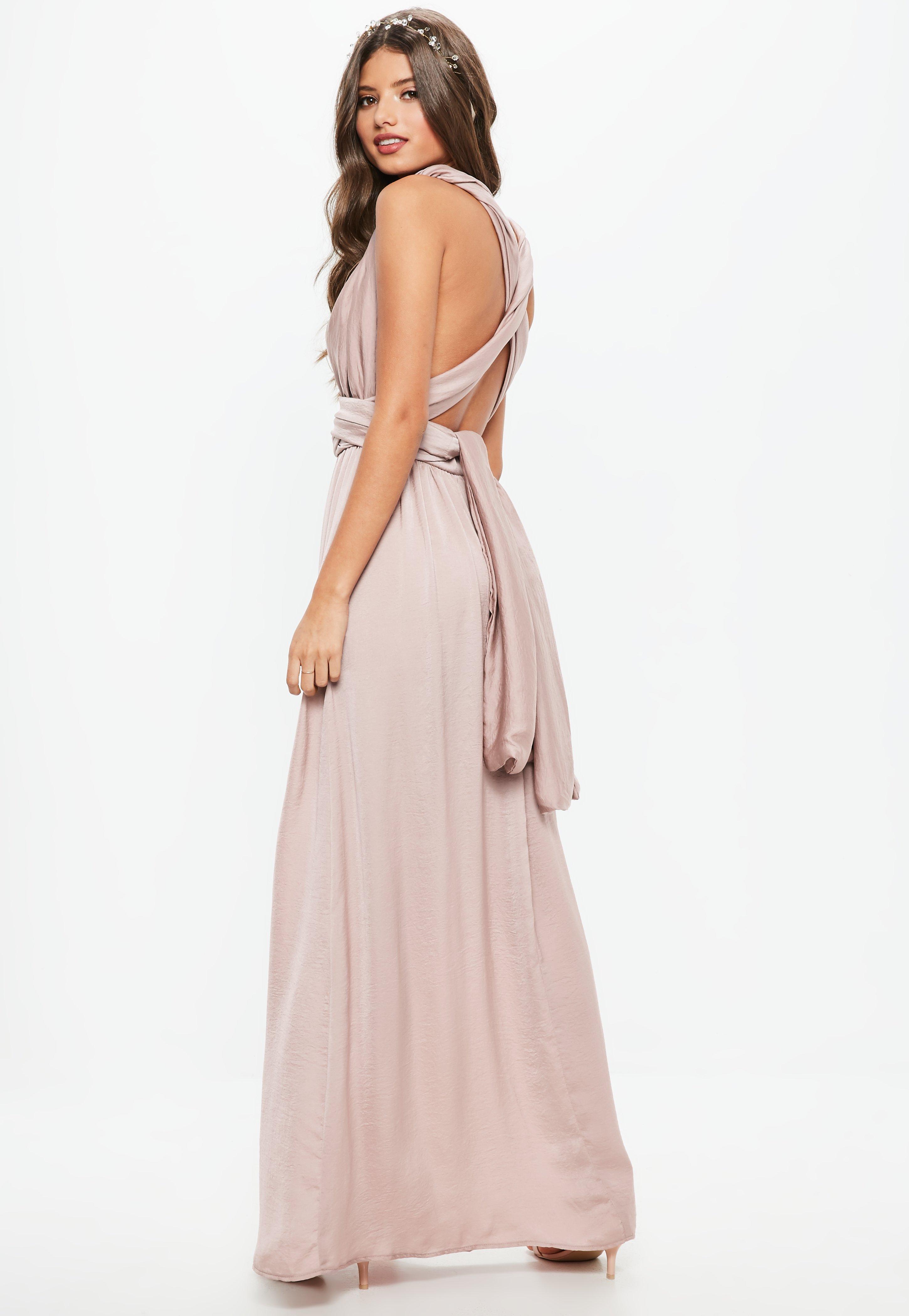 a036d27758f Gallery. Women s Bridesmaid Dresses Women s Pink Dresses Women s Ruffle Maxi  ...