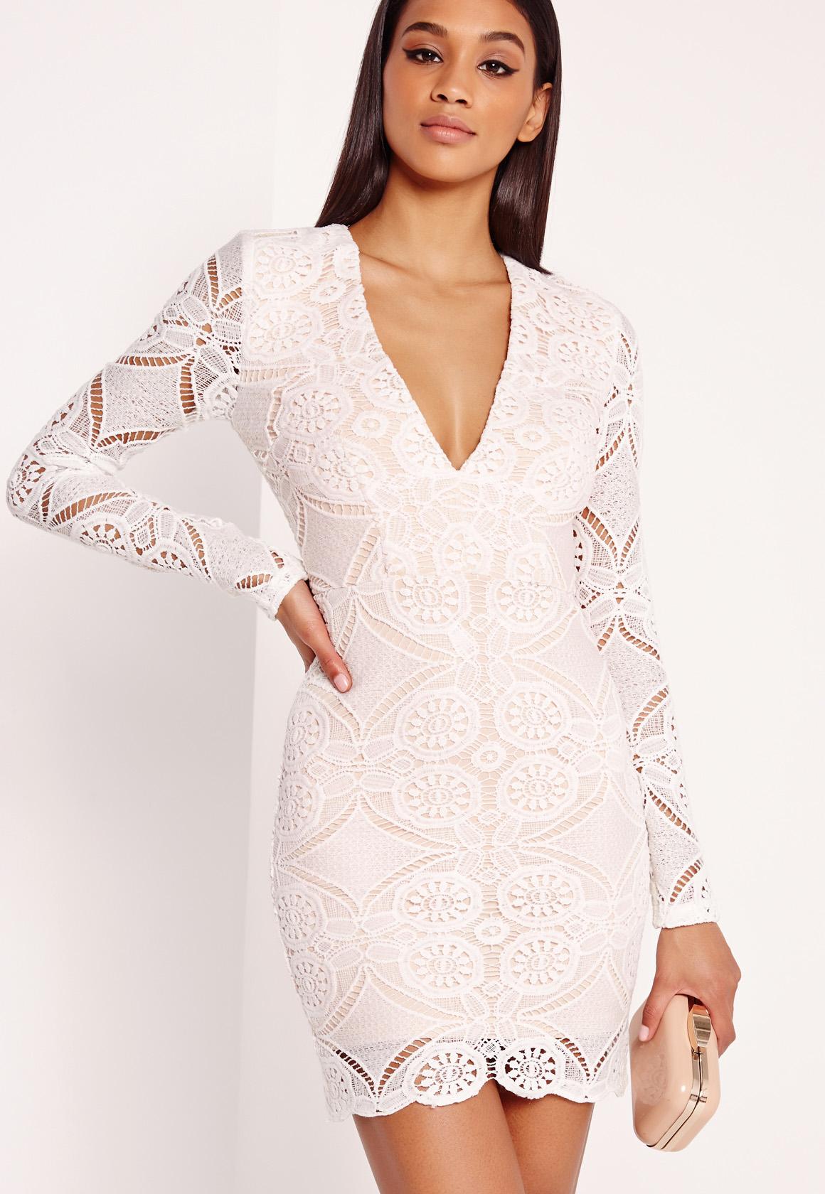 Sleeve long sleeve bodycon dress pink taylor