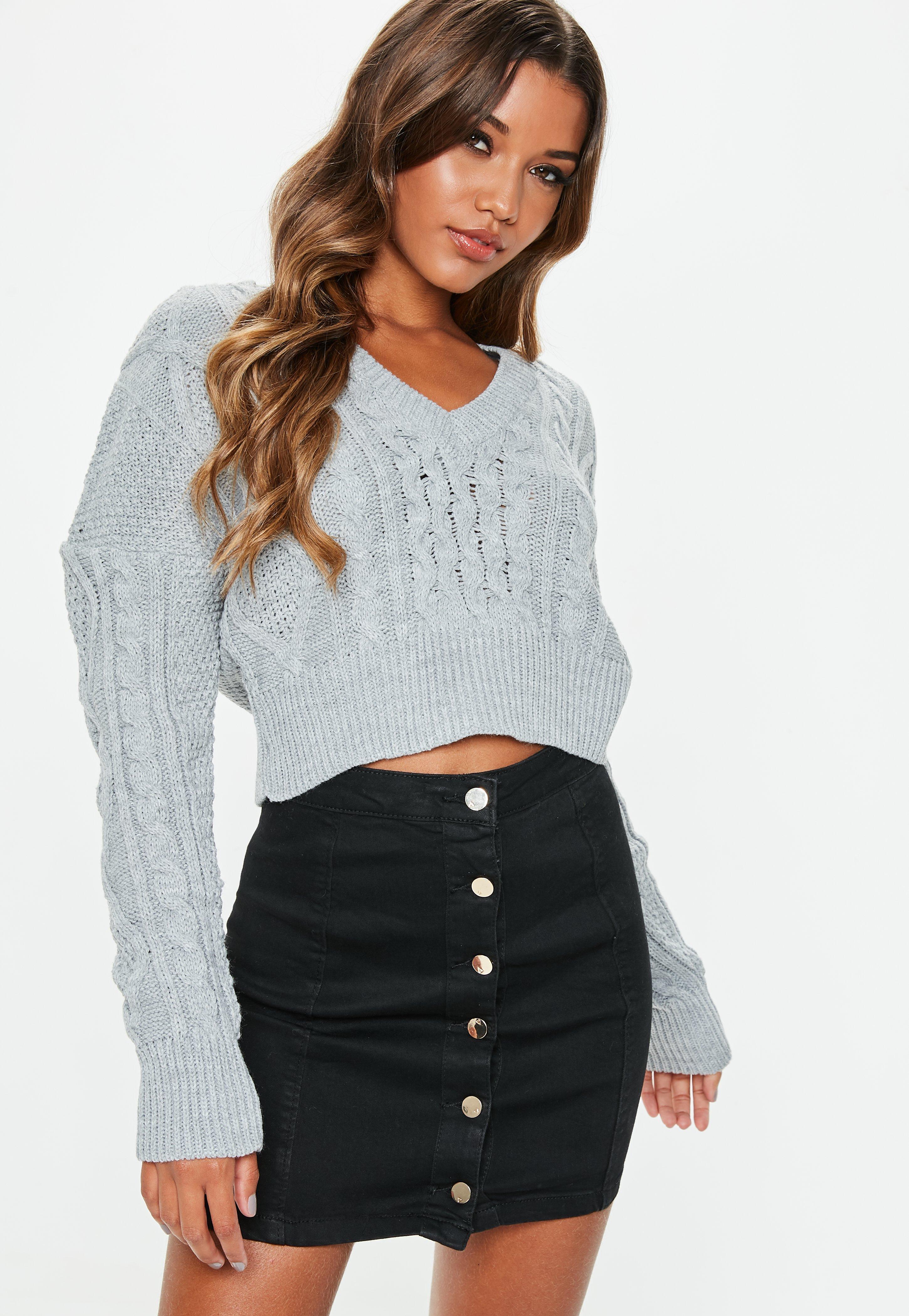cc99c9564d Missguided Black Superstretch Button Denim Mini Skirt in Black ...