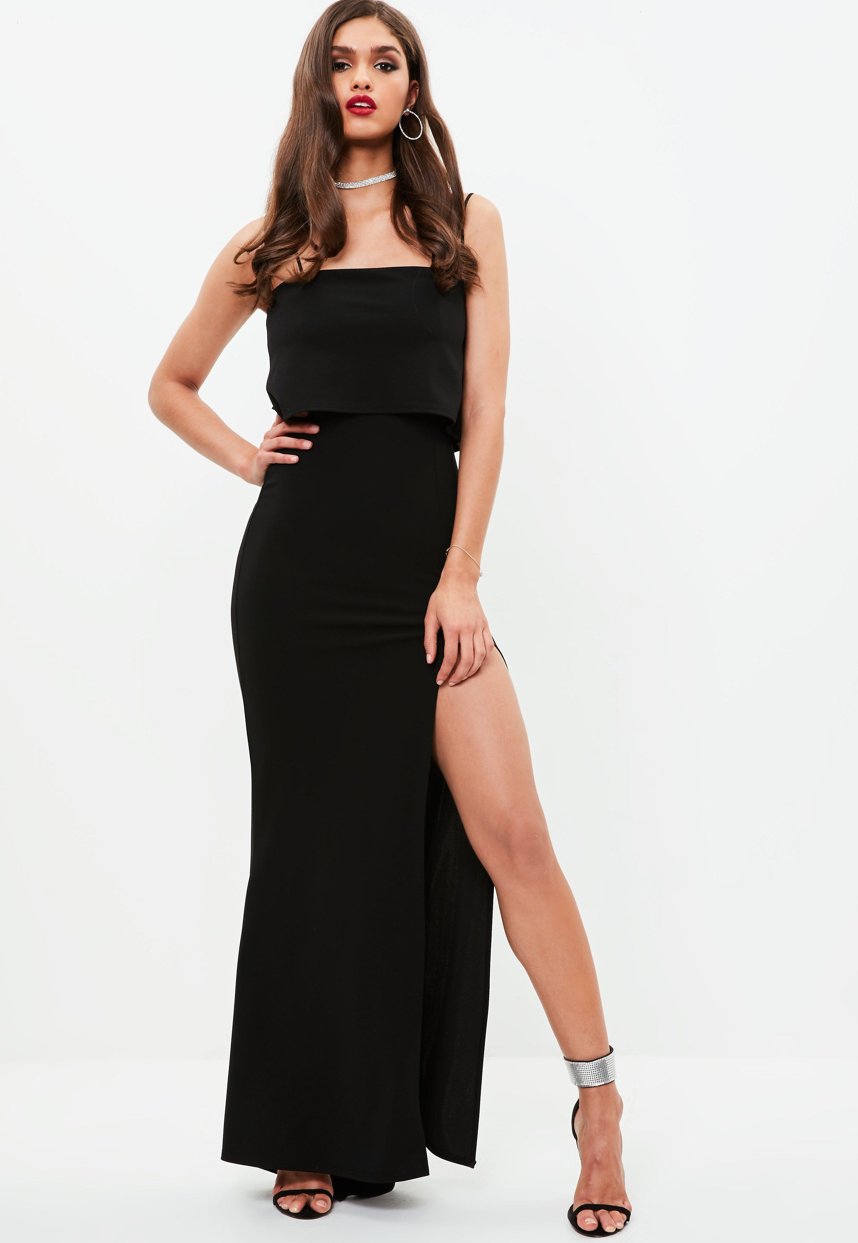 Missguided Square Neck Overlay Maxi Dress Cheap Sale View Fashion Style For Sale For Sale The Cheapest Extremely Sale Online Huge Surprise 8h4iGiOn0