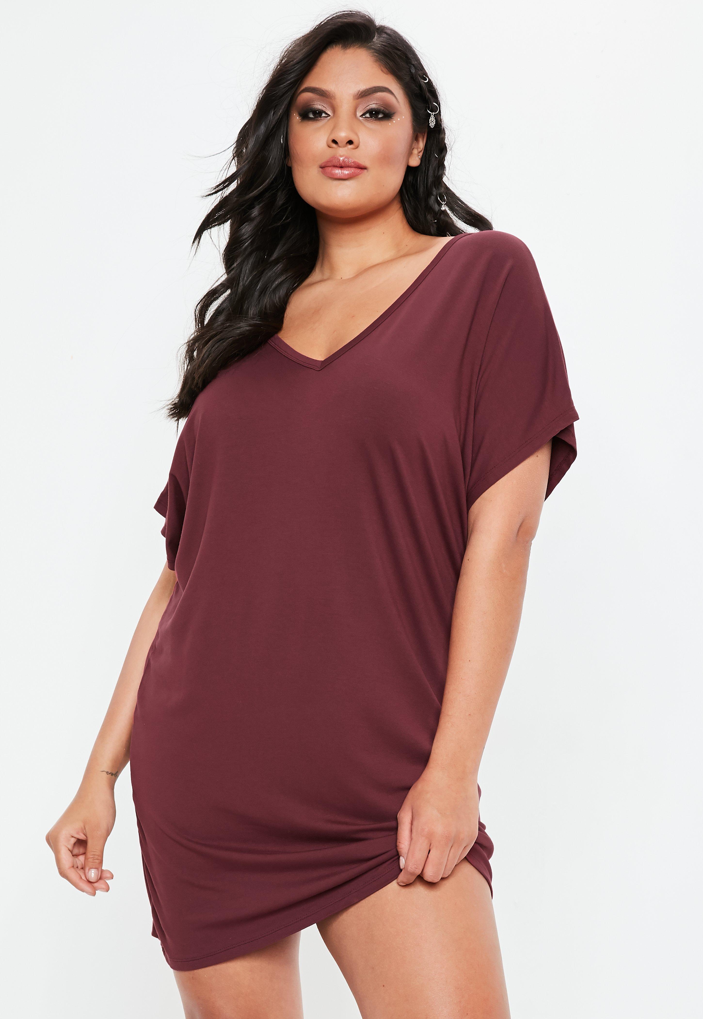 70182c07b8fbc Oversized T Shirt Dress Plus Size - BCD Tofu House