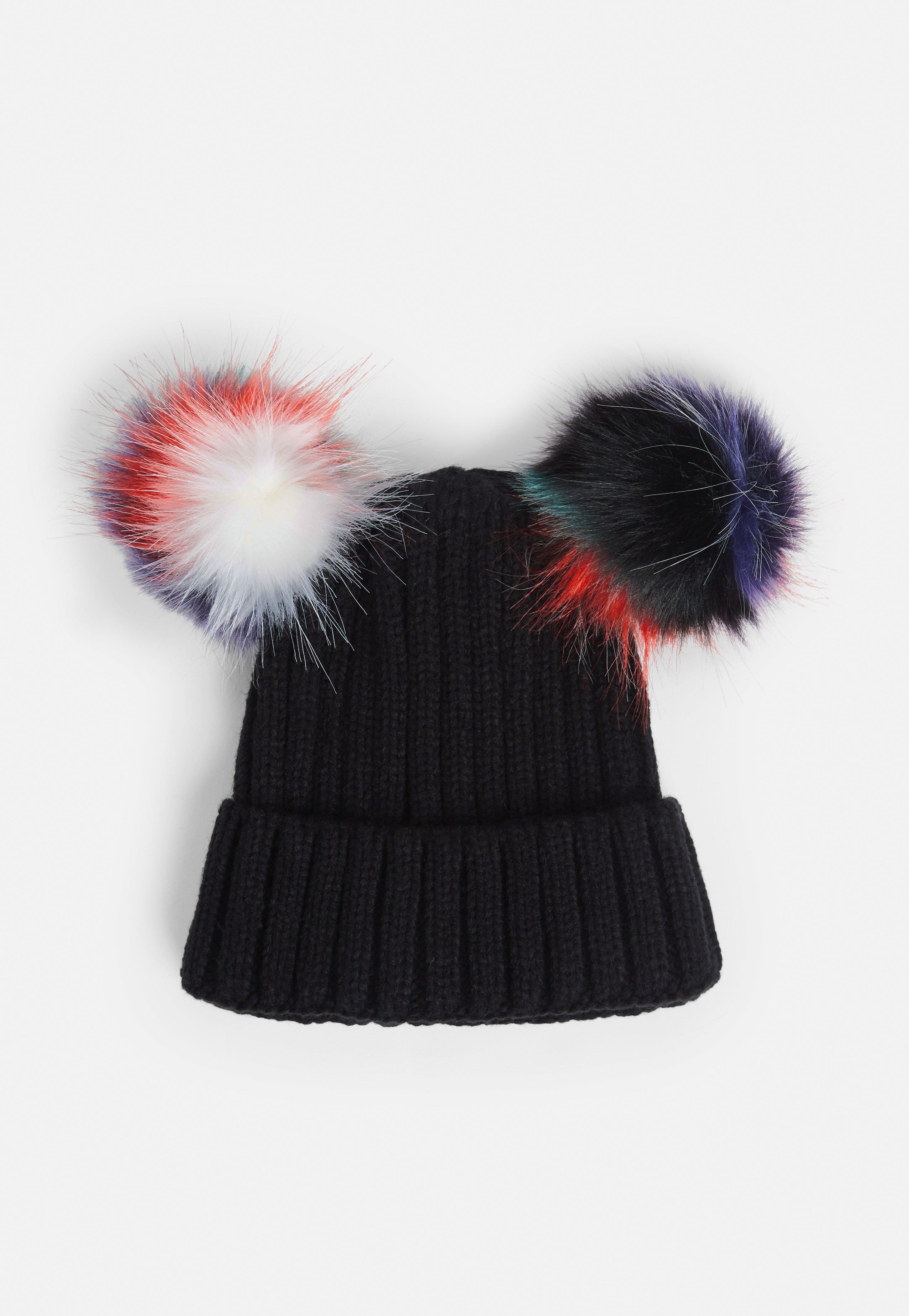 beae735f9b5 Missguided Black Beanie Hat in Black - Lyst