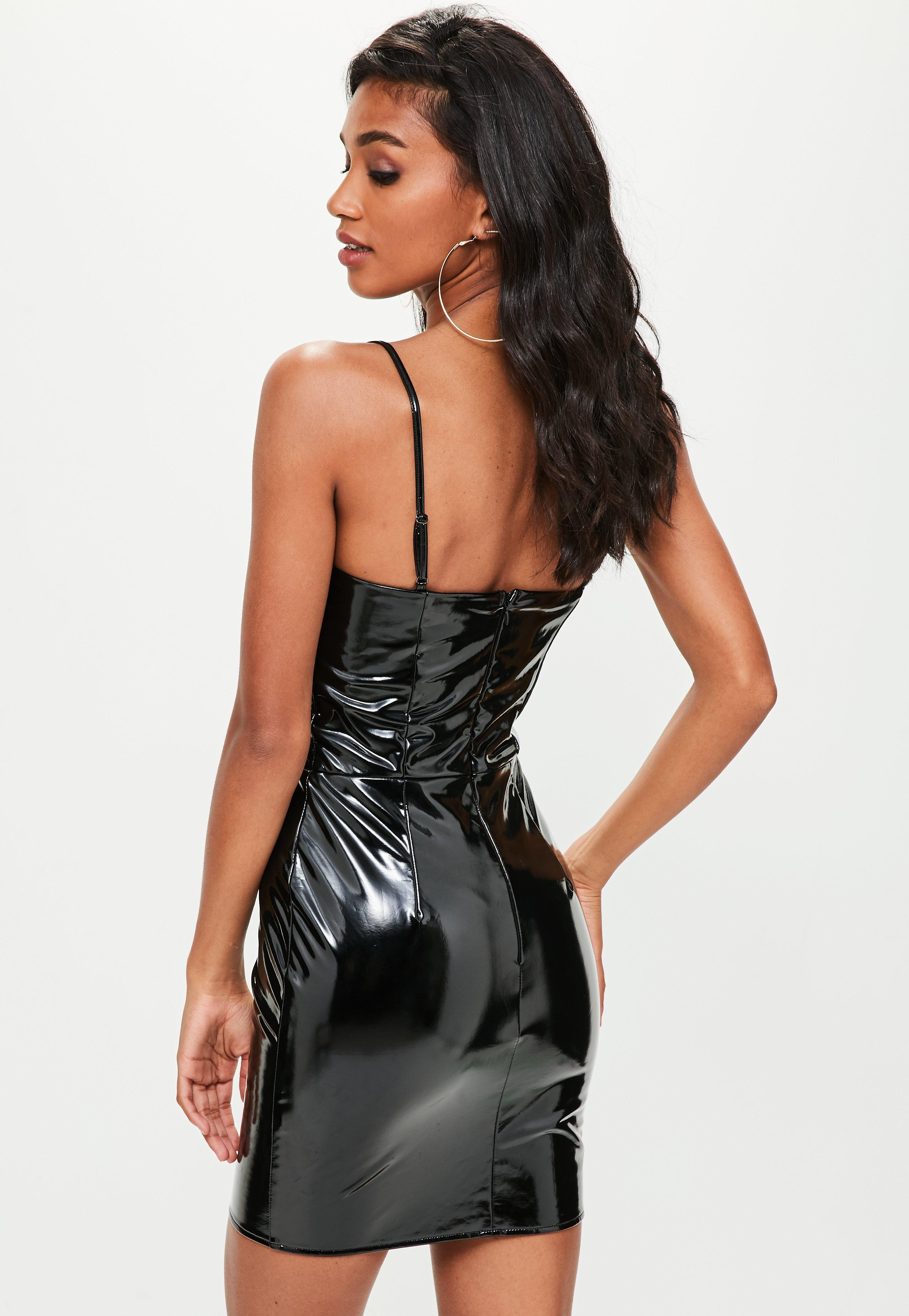 Sale missguided strappy bodycon dress richland