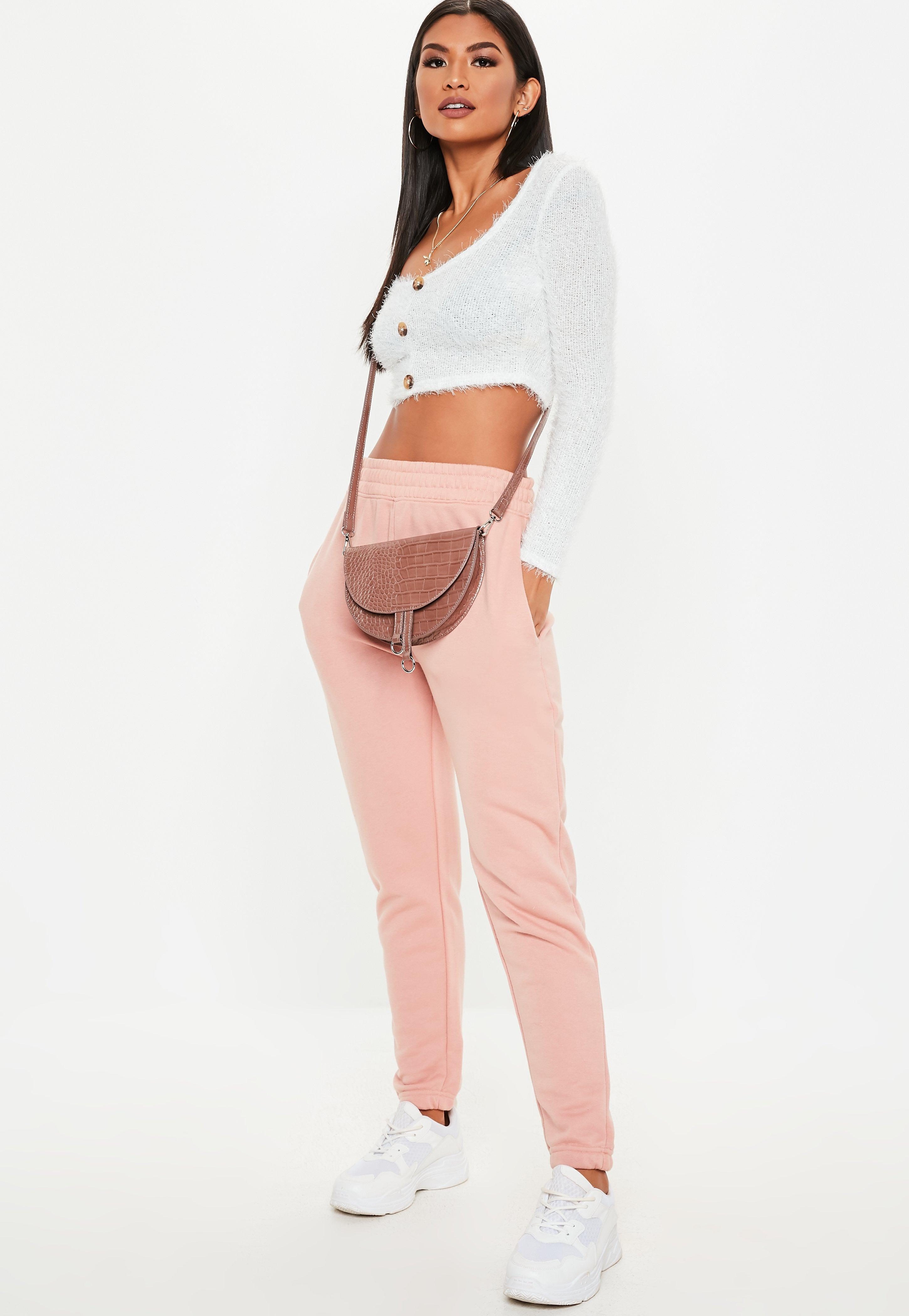 3421fa4d51cc9 Missguided - White Fluffy Horn Button Long Sleeve Crop Top - Lyst. View  fullscreen