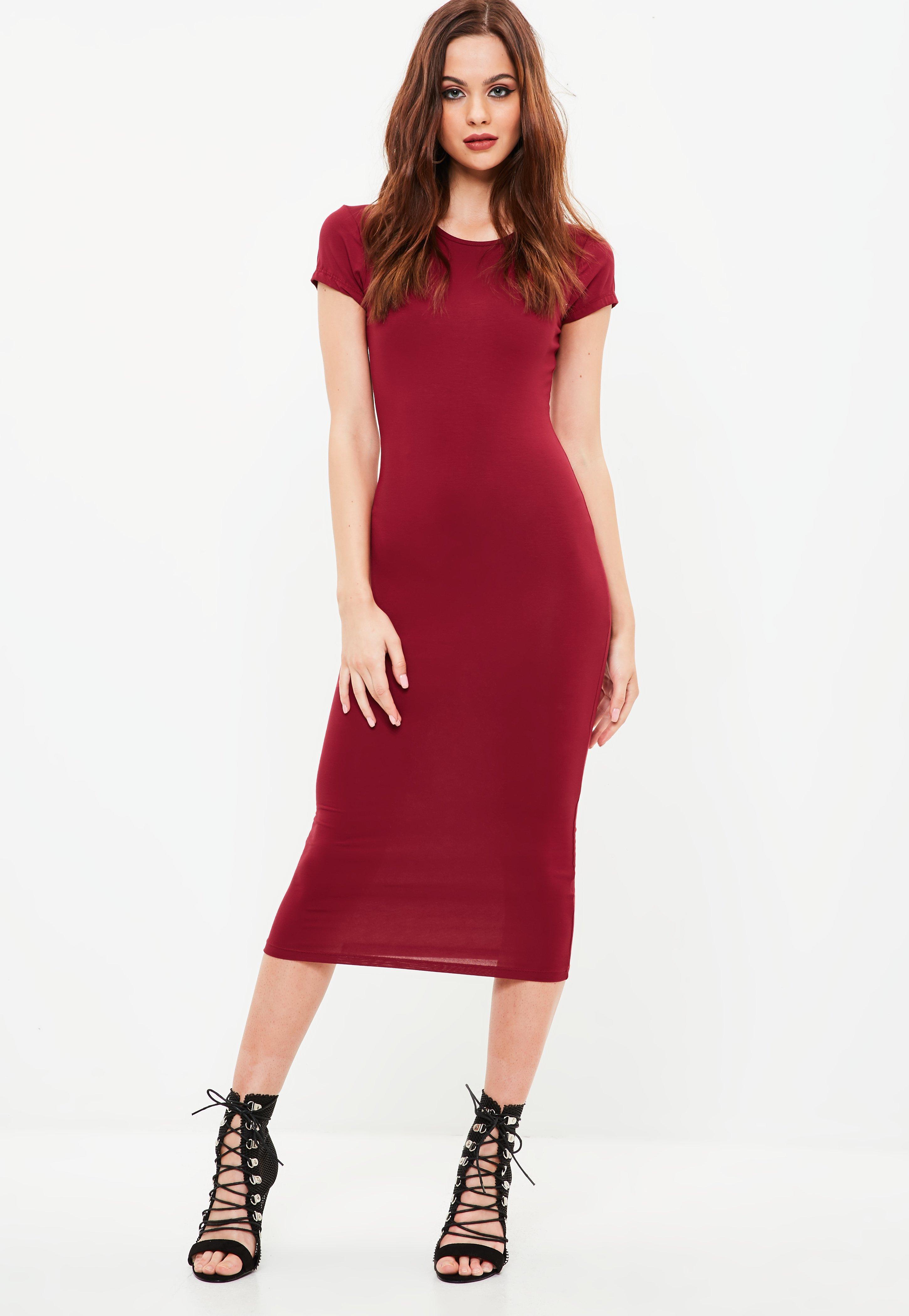 Online short sleeve midi bodycon dress legit louisville