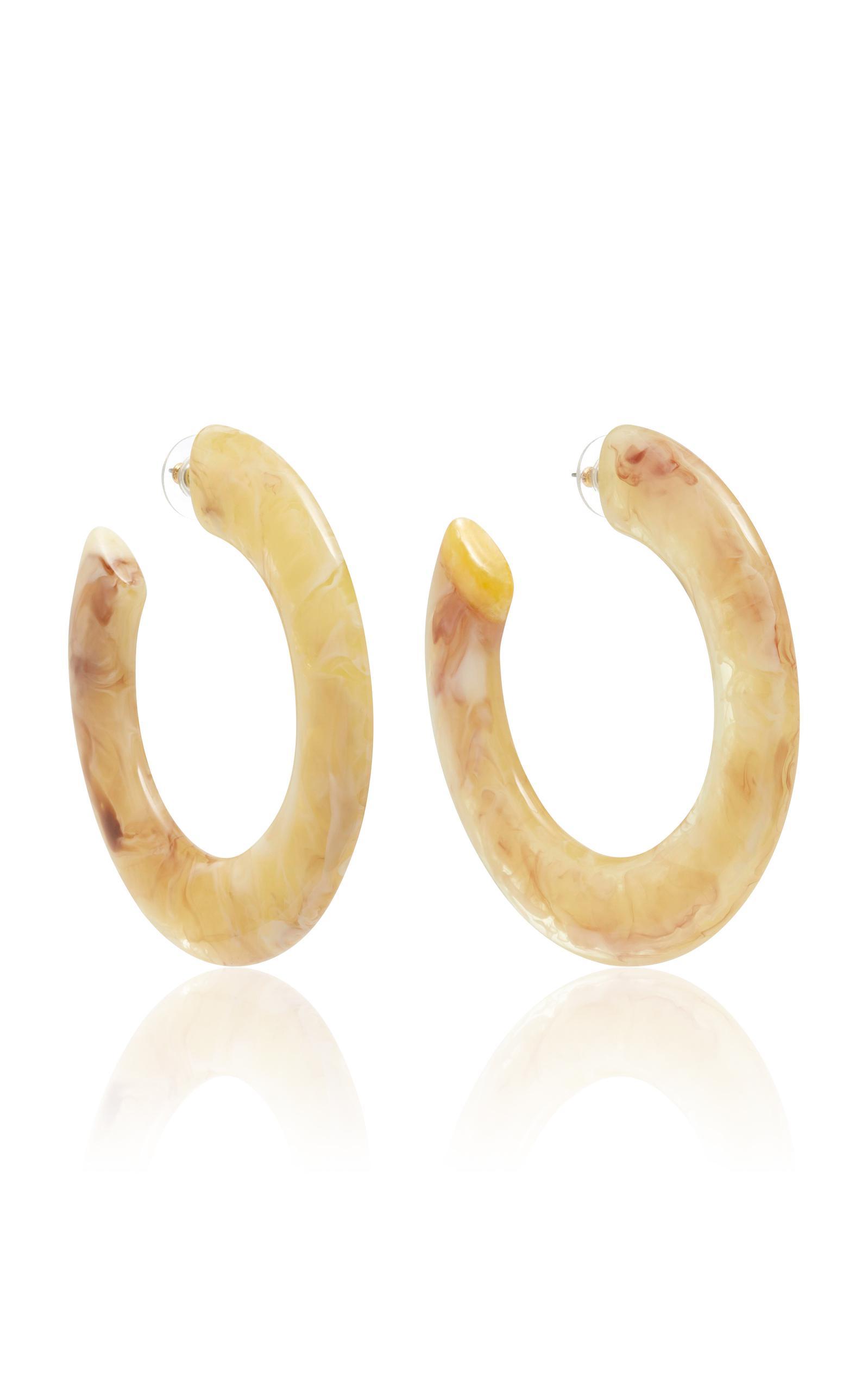 Kennedy tortoiseshell acetate hoop earrings Cult Gaia Ng8XMwKIuE