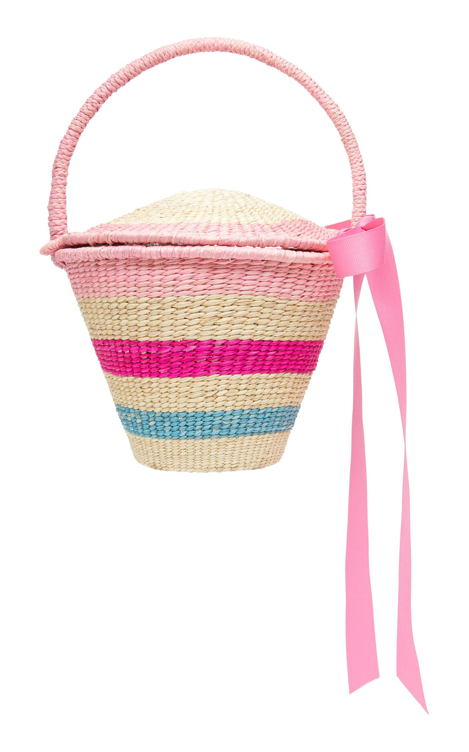 Sensi Studio MO Exclusive Mini Striped Bucket Bag MSOSYK
