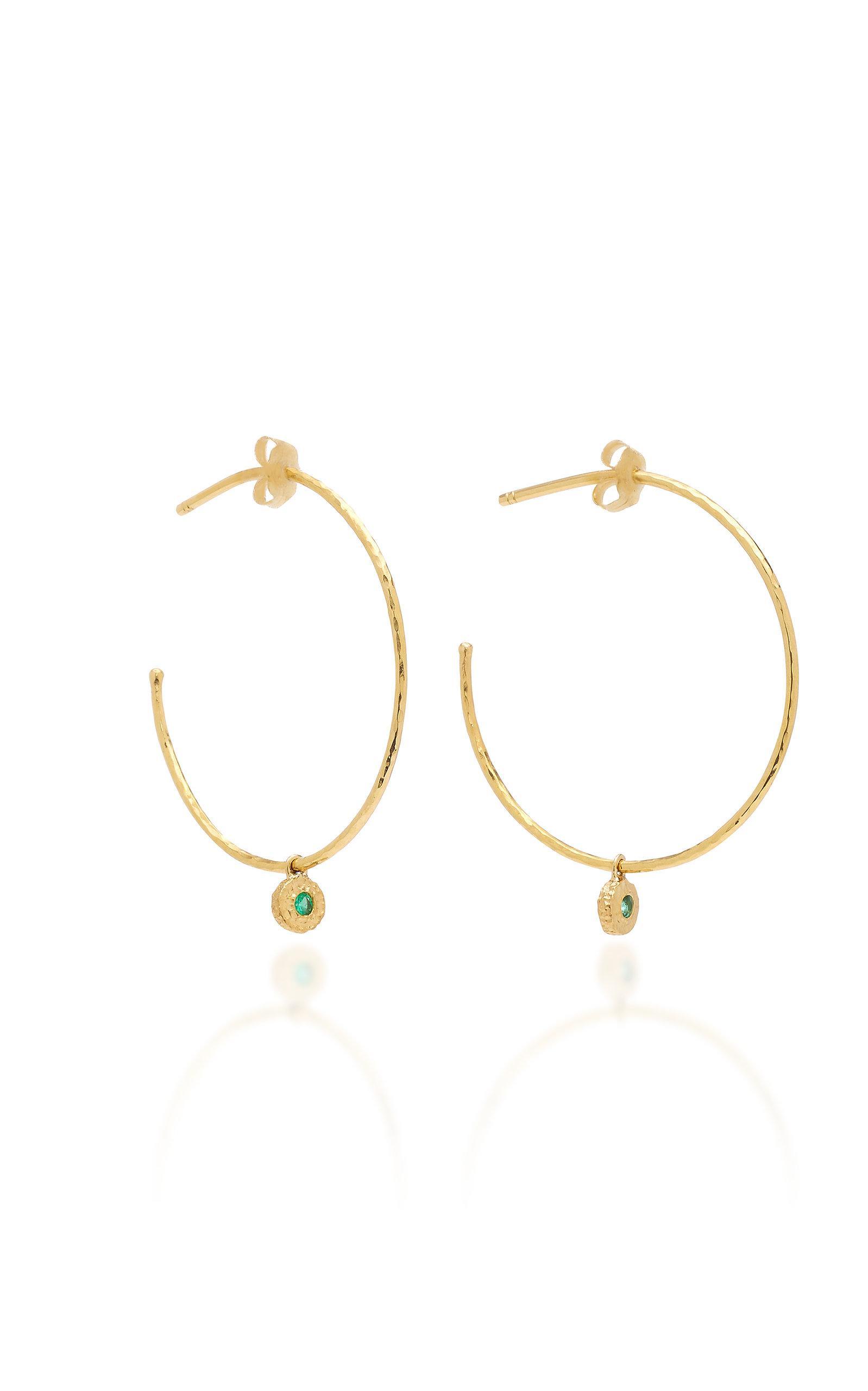 Nesting Gem Tourmaline and 18K Gold Drop Earrings Octavia Elizabeth ztUNyT4es