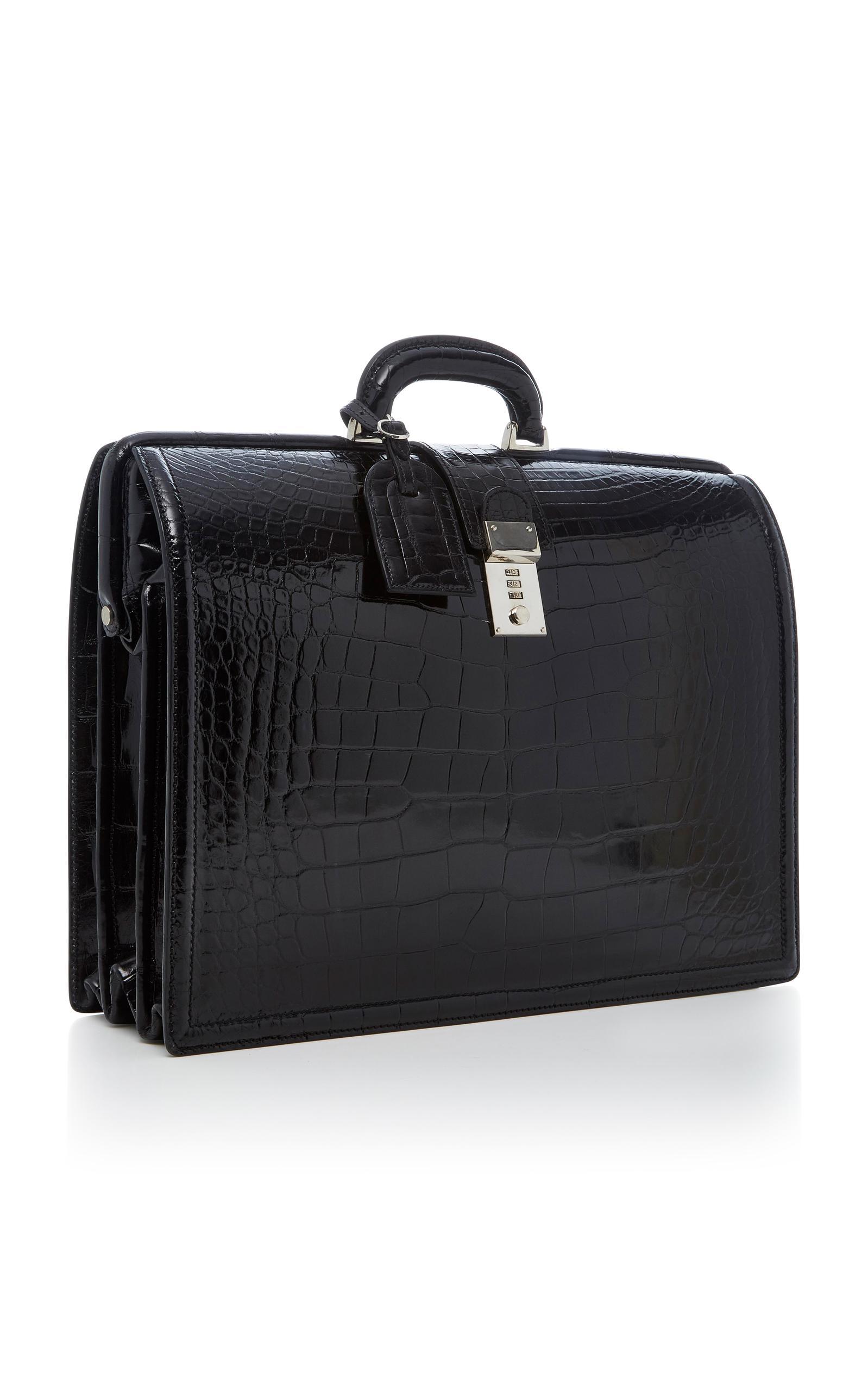 Alligator Brief Bag T. Anthony 18TaVpRzOL