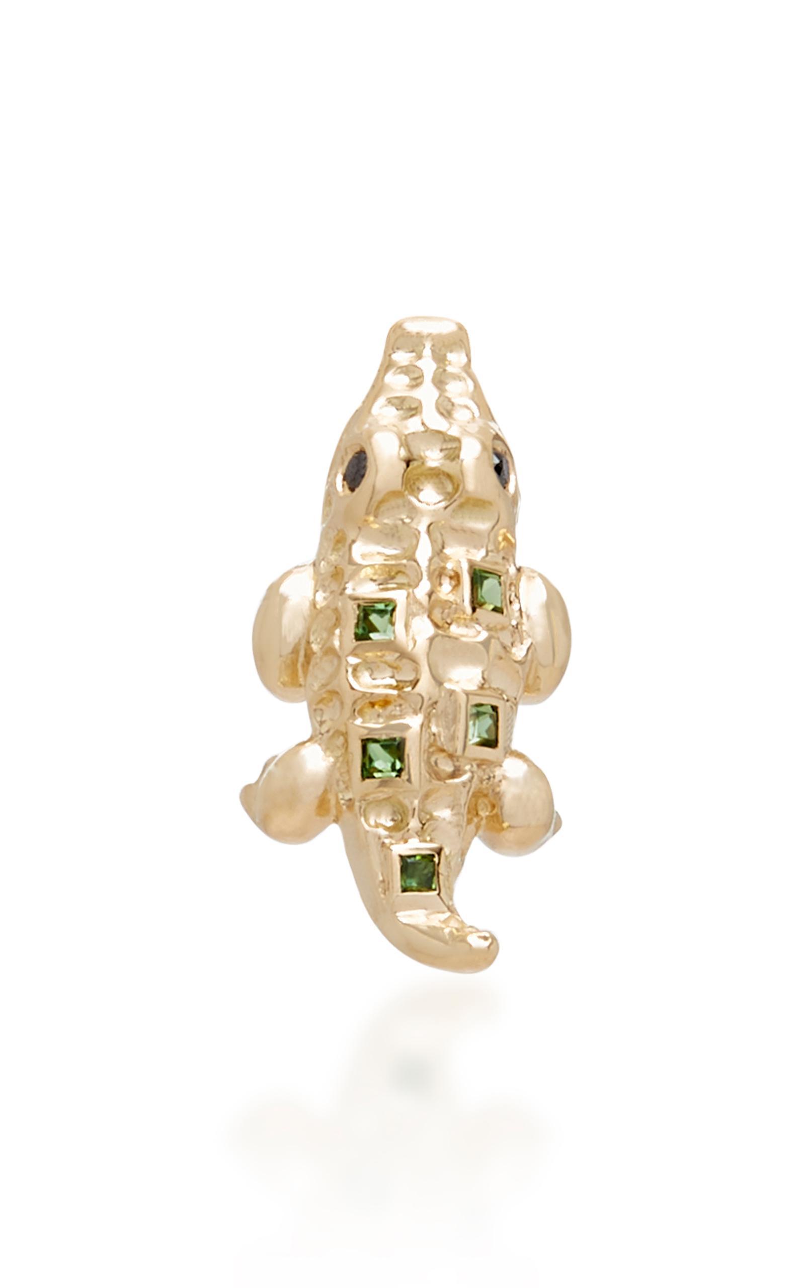 Yvonne Léon Gold Tortoise Diamond Earring jdHRb