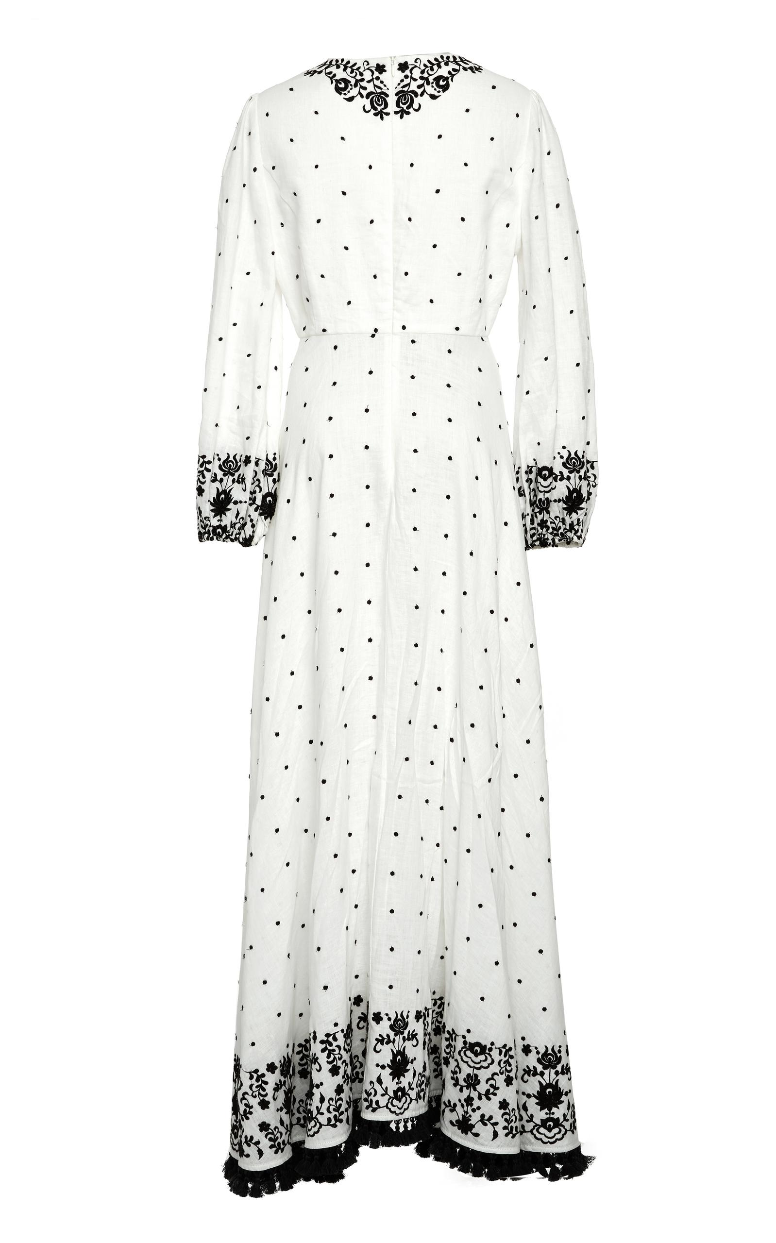 Tali embroidered linen maxi dress Zimmermann Outlet Shop 2018 Newest Popular Sale Online ePkmT296