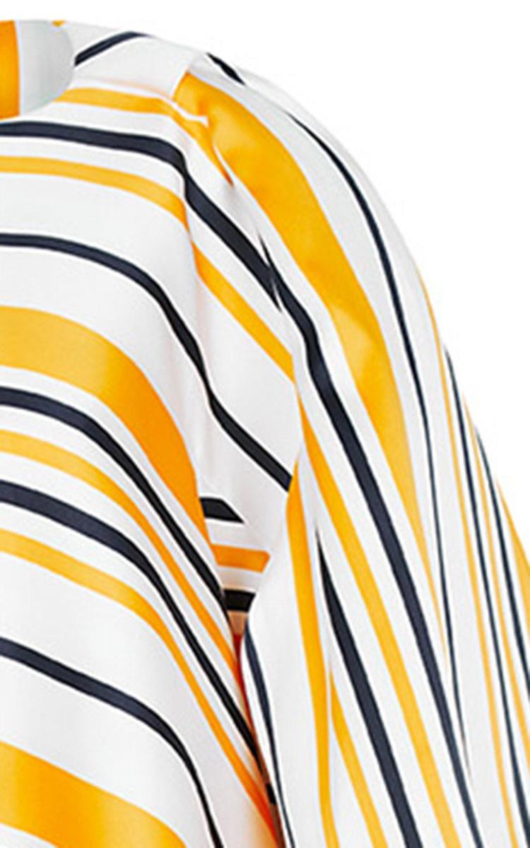 Lyst Maticevski Artful Overcoat In Yellow