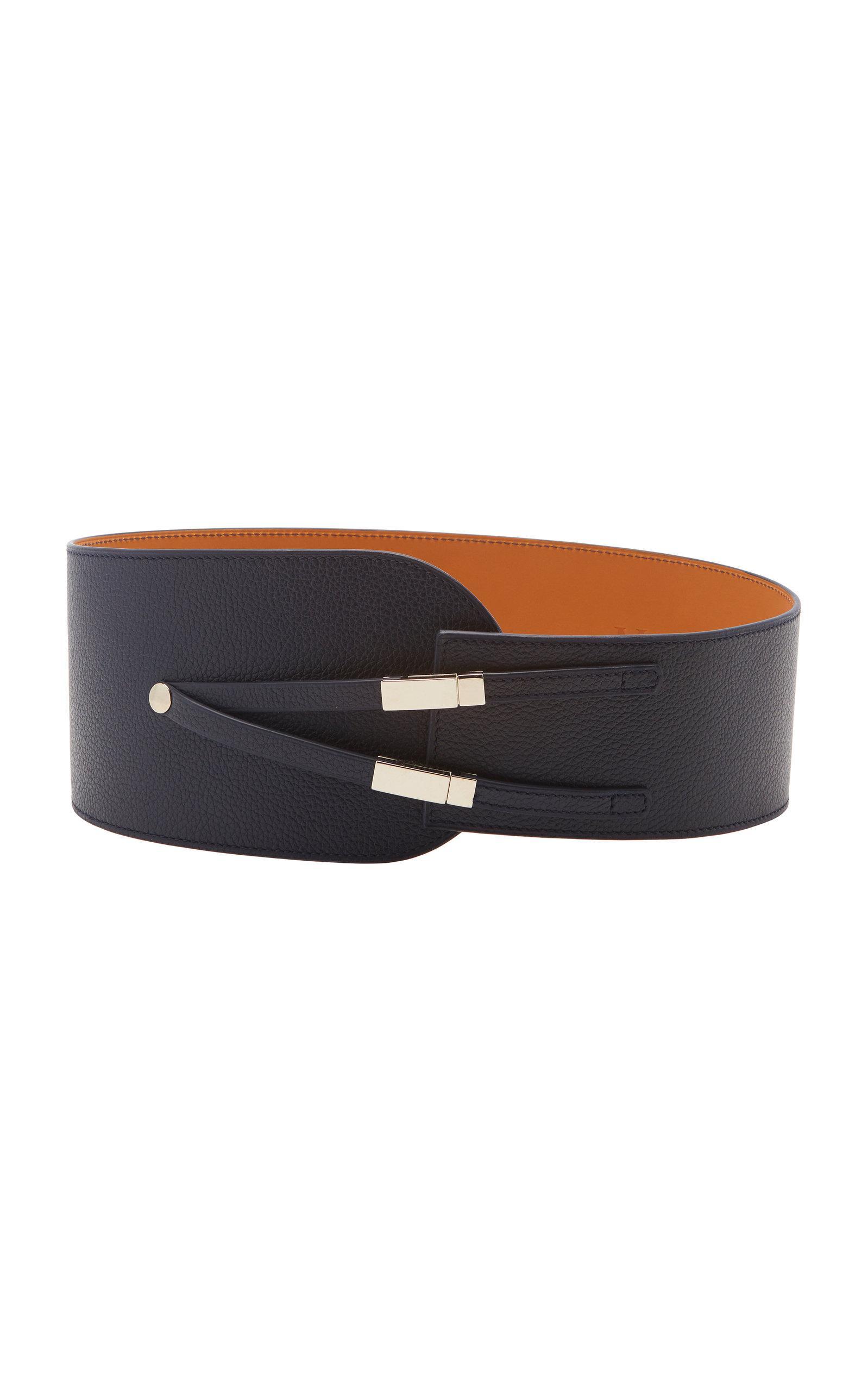 Leopard-Print Calf-Hair Belt Maison Vaincourt rfKgFTNeP