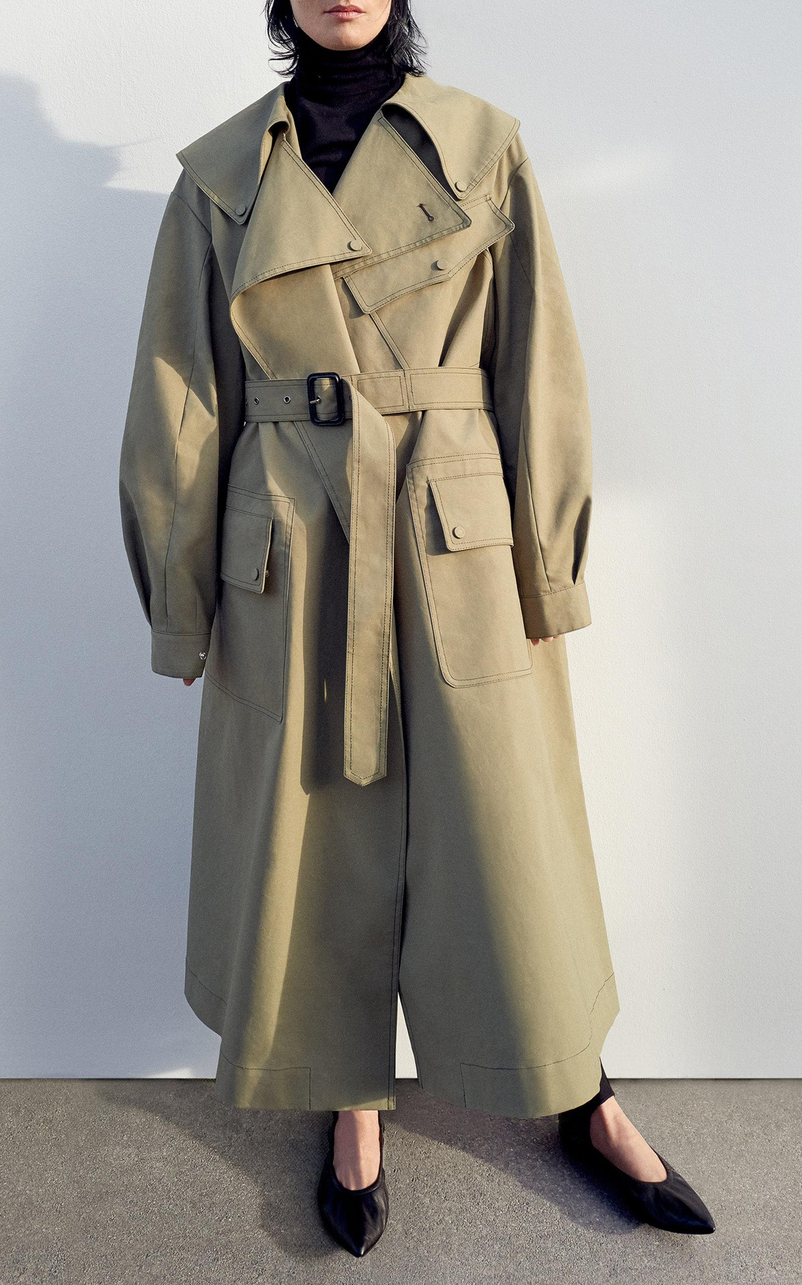 Discount Wiki Best Prices Cheap Online Damon trench coat - Green Joseph Amazing Price Sale Online Clearance Best Place 0LGRwWut