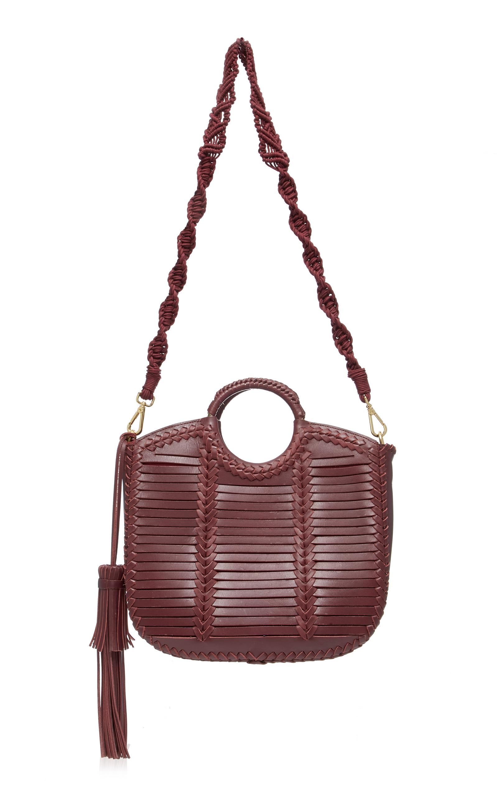 cd173d23bc2b Lyst - Ulla Johnson Amaia Tote in Red