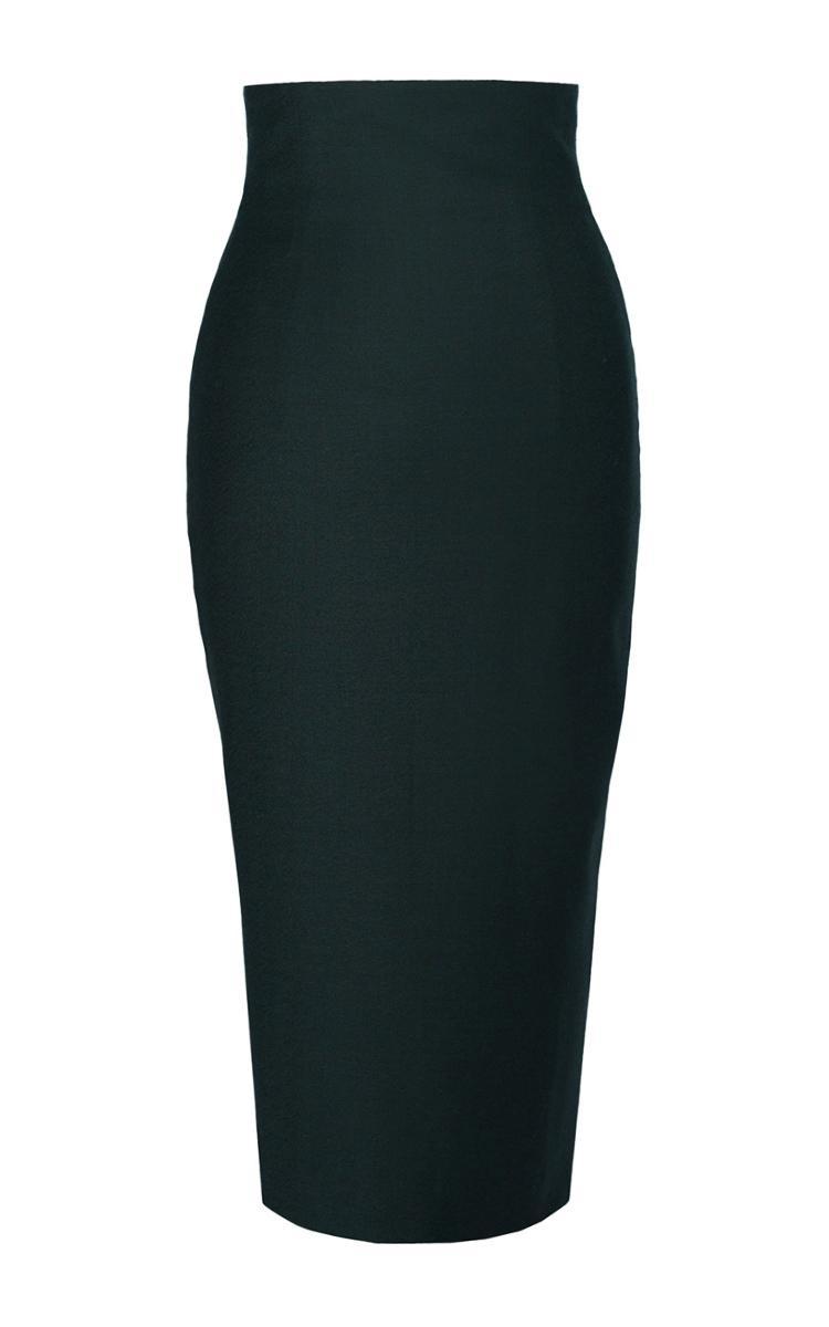 lena hoschek moneypenny forest skirt in green lyst. Black Bedroom Furniture Sets. Home Design Ideas