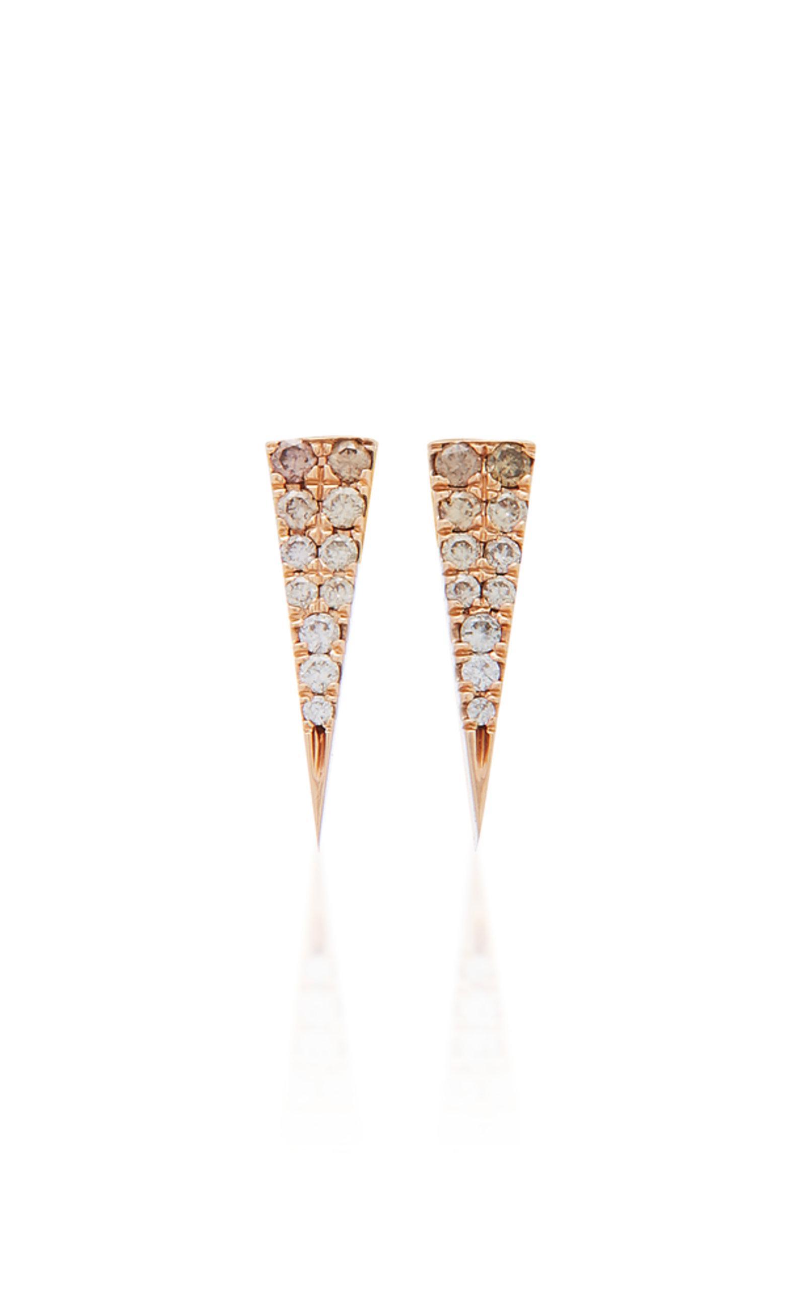 Ombre Line Earrings Eva Fehren AgWd4QrY