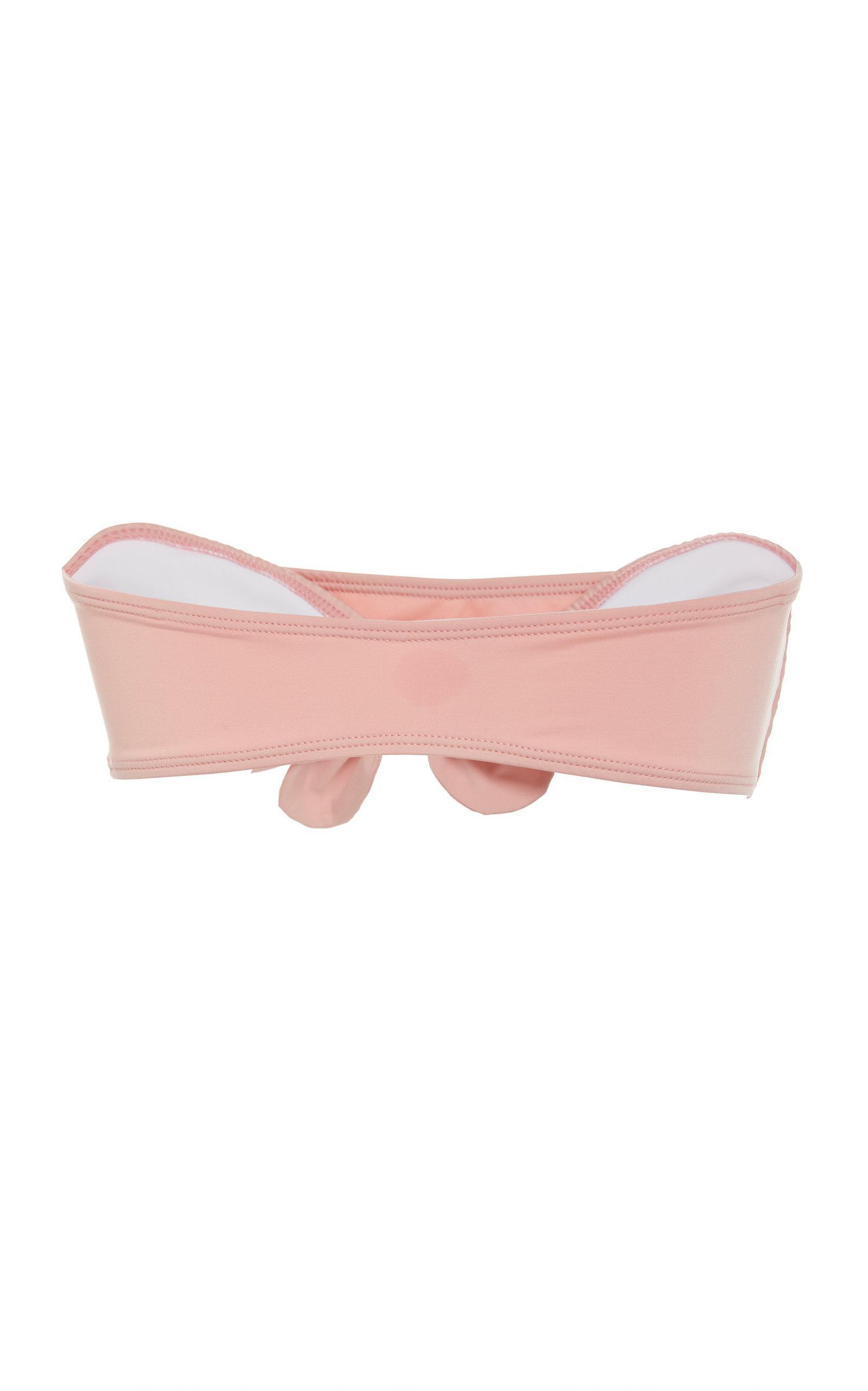 d264ce93e8eaa ... Pink Malibu Bandeau Bikini Top - Lyst. View fullscreen