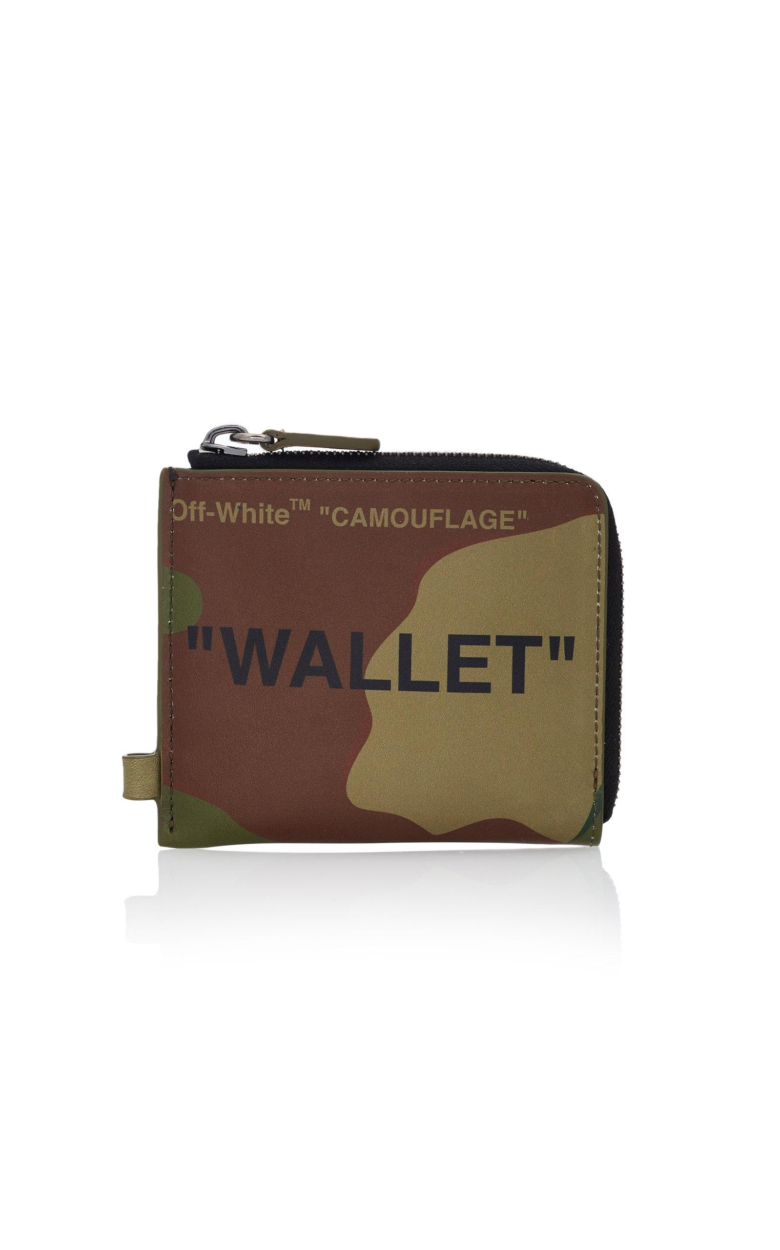 4e348601a3ce Off-White c o Virgil Abloh - Black Quote Leather Chain Wallet for Men. View  fullscreen
