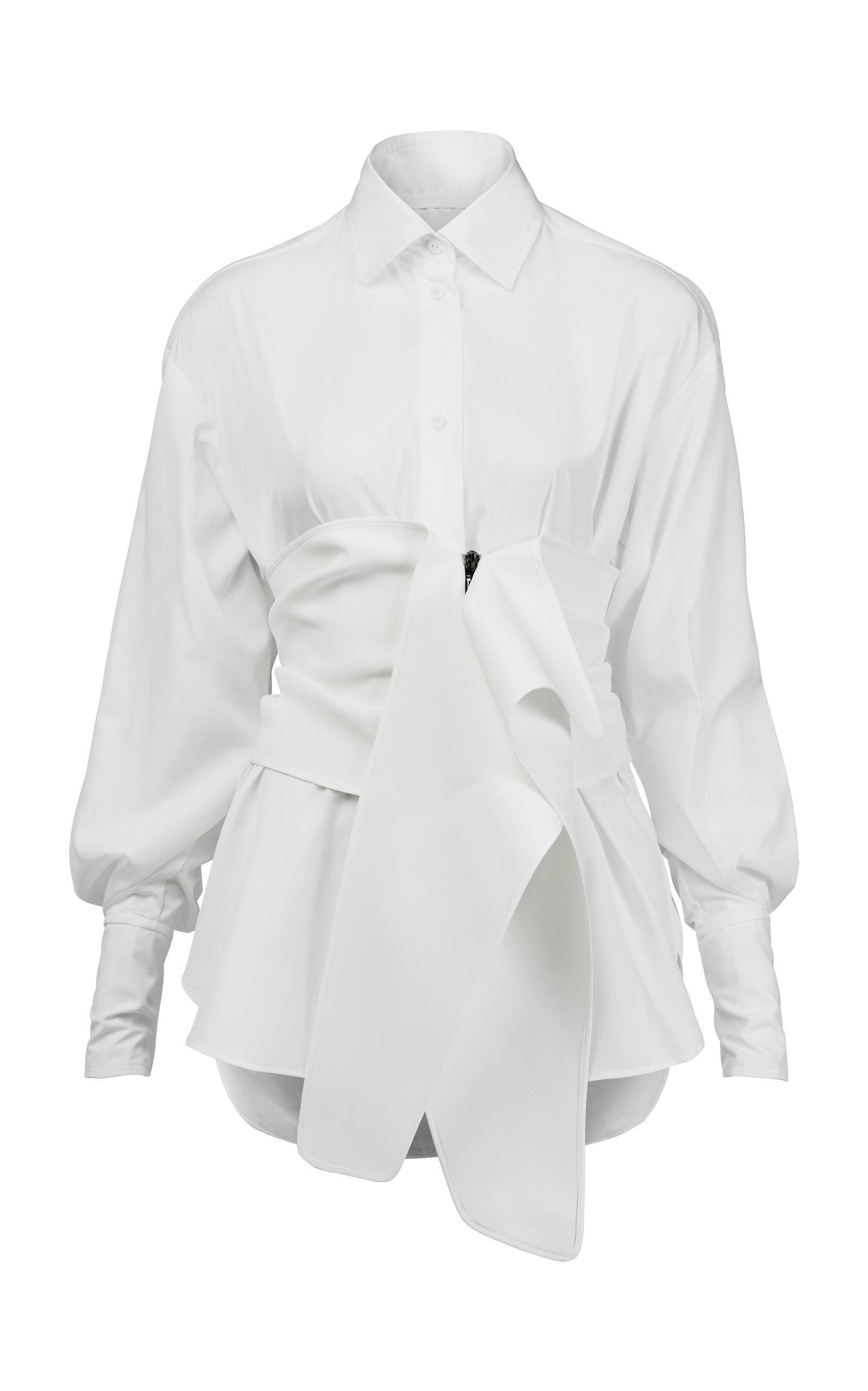 Faithful Collared Shirt With Cummerbund Maticevski Cheap Sale Explore With Mastercard SaJ3i