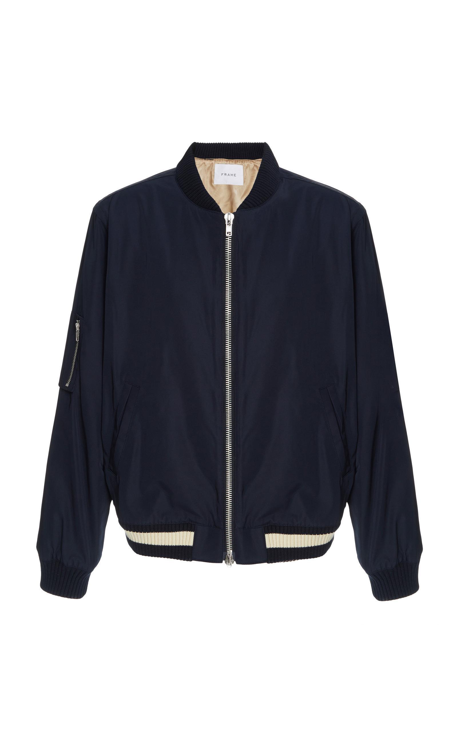Frame for Jacket in Men Shell Blue Lyst Bomber Ox1qdwOU