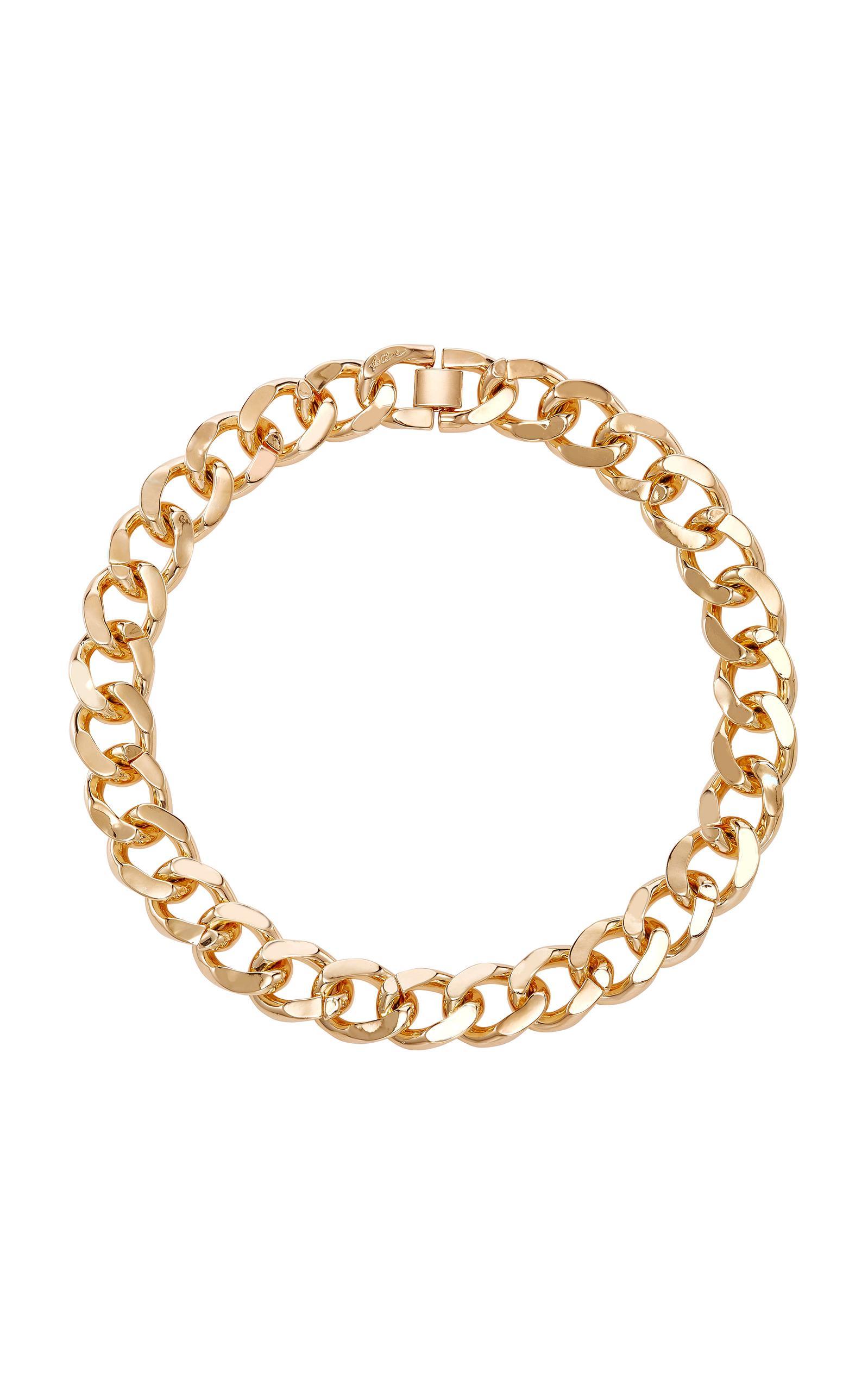 Fallon Armure Extra-Large Curb Chain Collar HrvTAzV