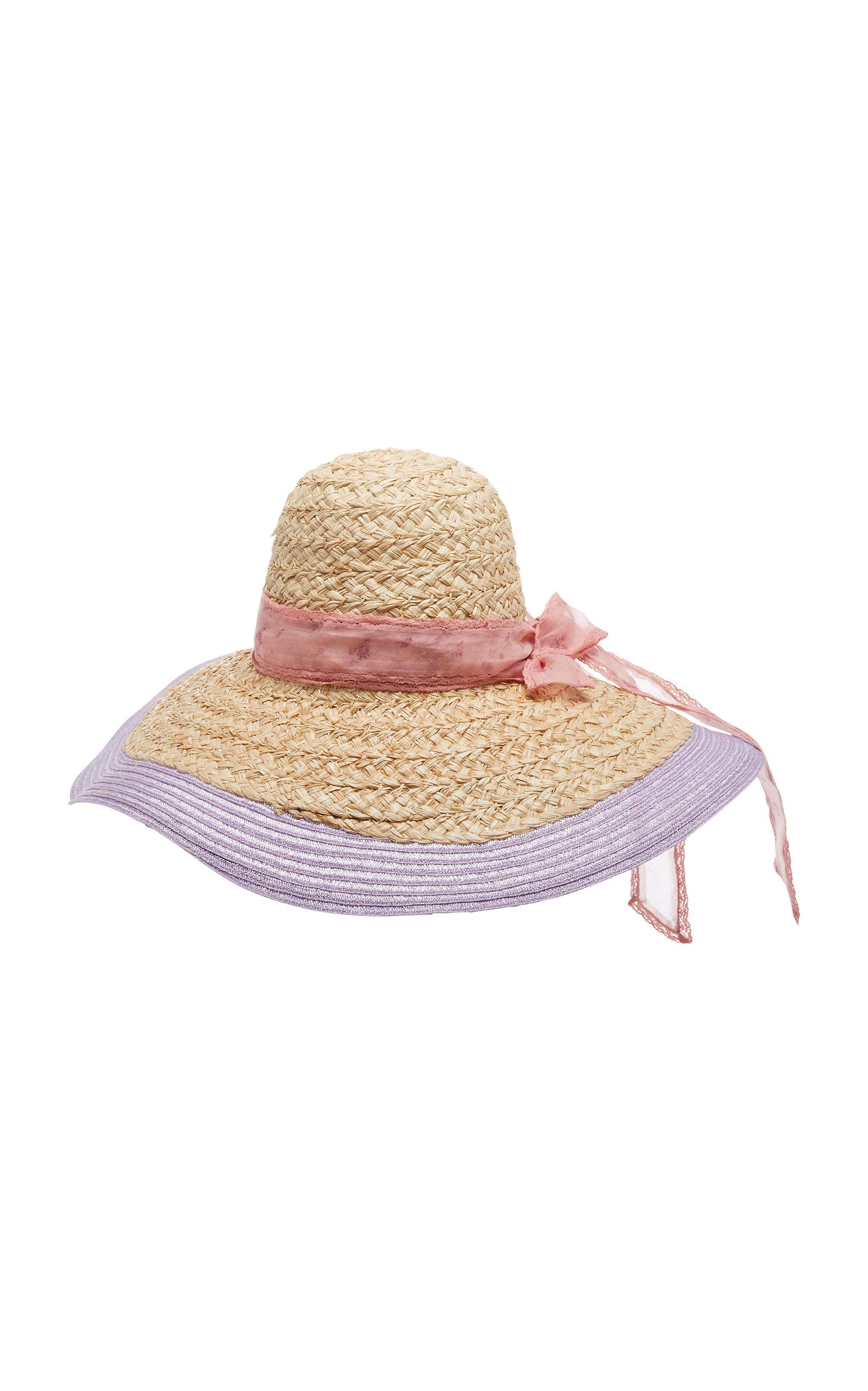 Lyst - LoveShackFancy Madison Hat in Purple 9e50041a6270