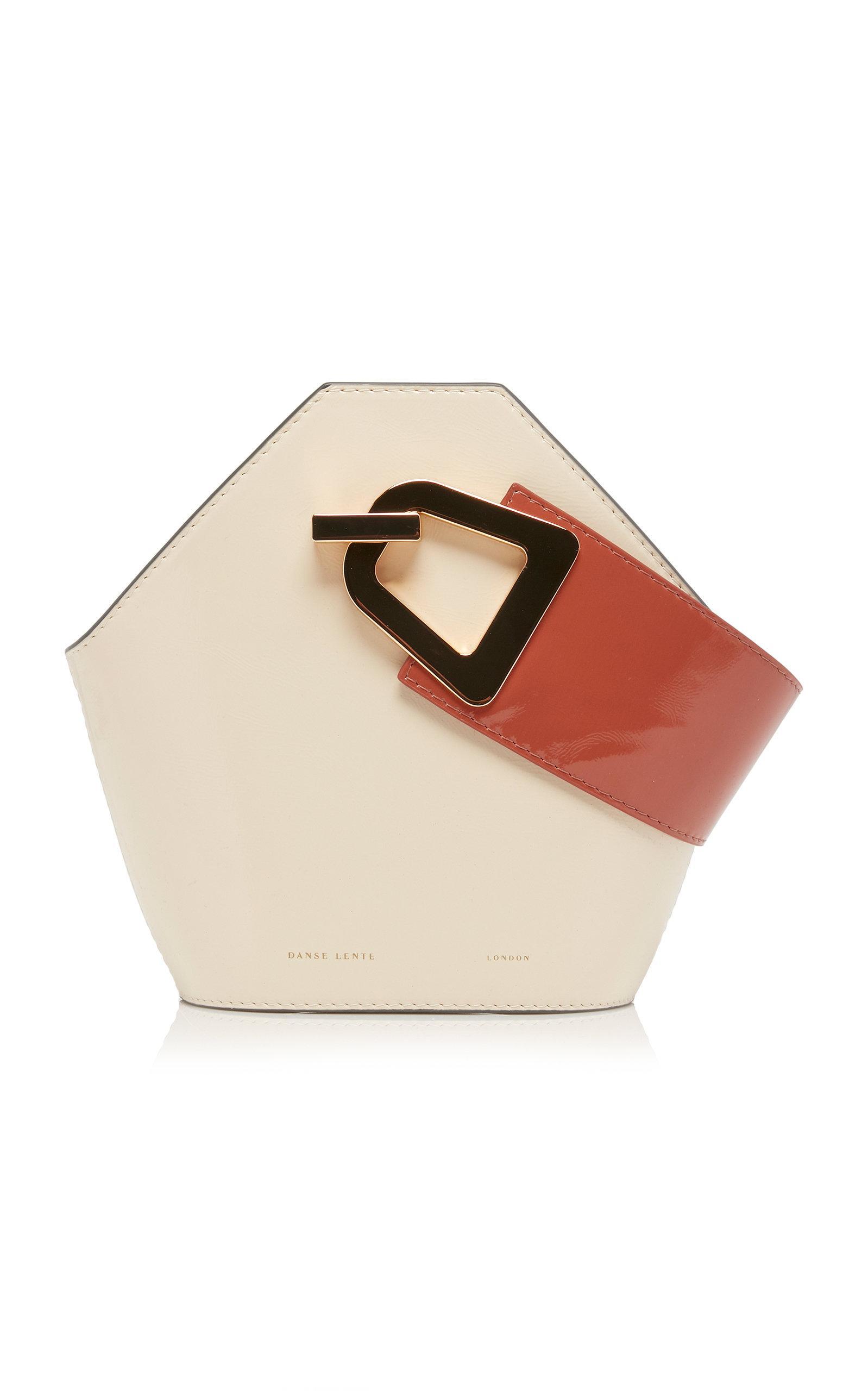 132a67bb7594 Danse Lente - White Johnny Patent Leather Mini Bag - Lyst. View fullscreen