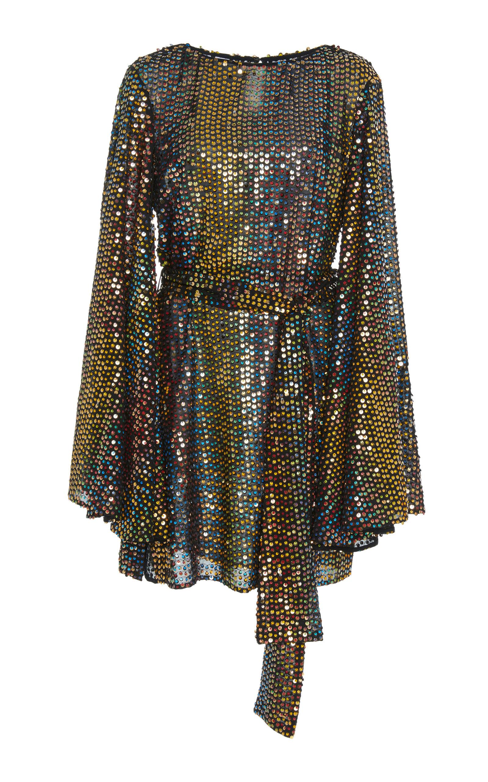 Anya Rainbow Dress Caroline Constas jLIDad