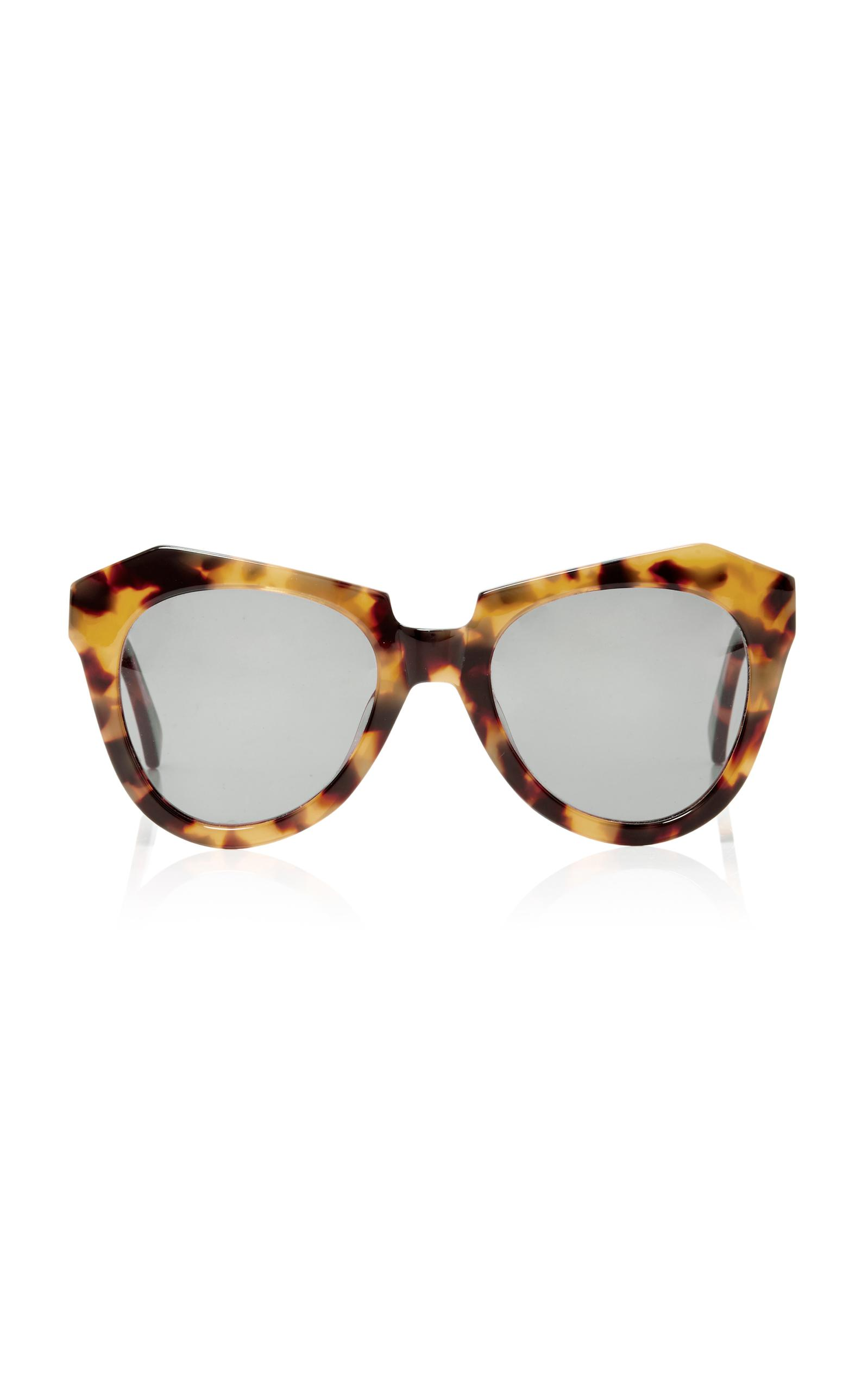 Karen Walker Woman Square-frame Tortoiseshell Acetate Sunglasses Brown Size Karen Walker At1ew