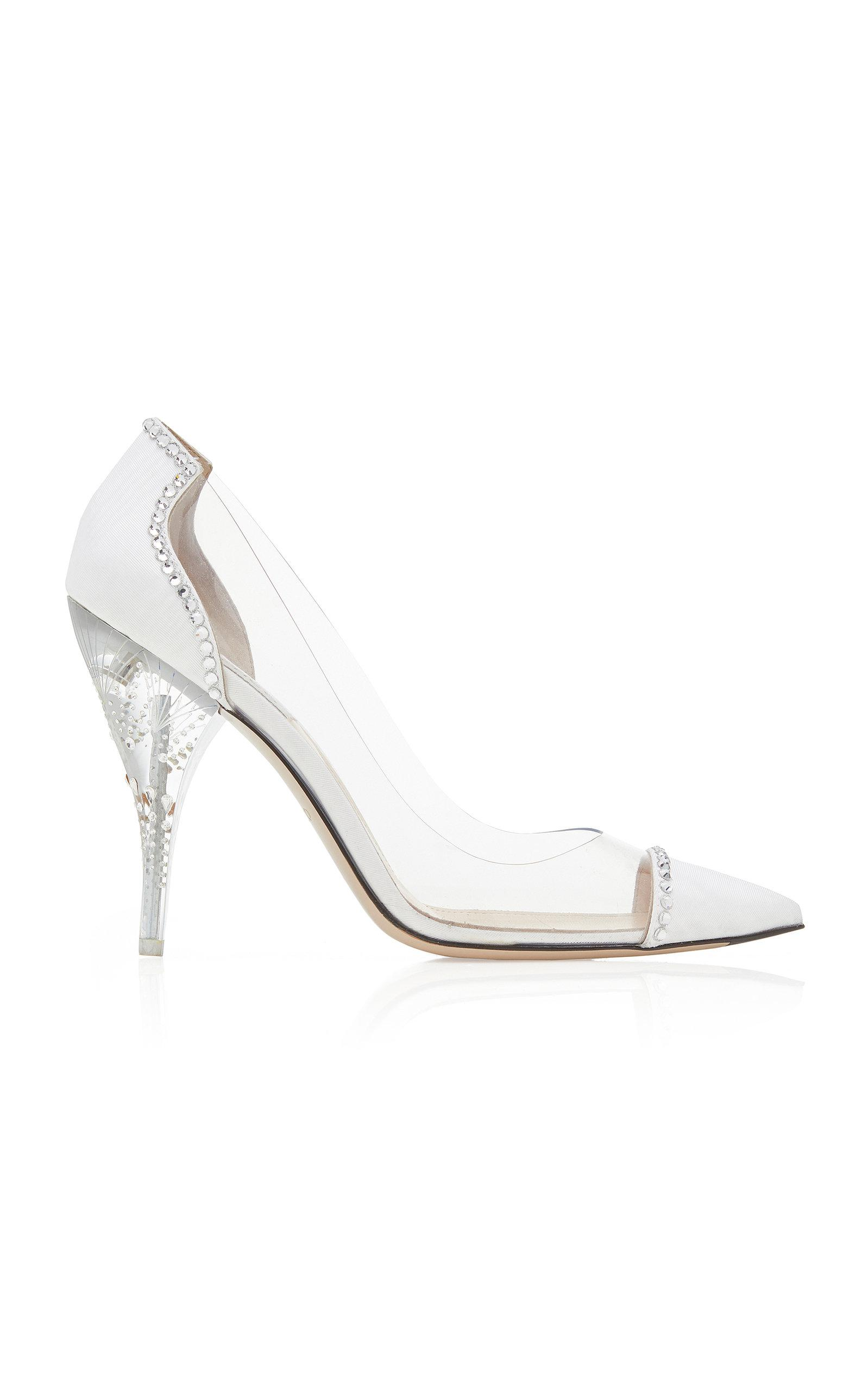 161bf4db5c Lyst - Attico Cindy Crystal Pumps in White
