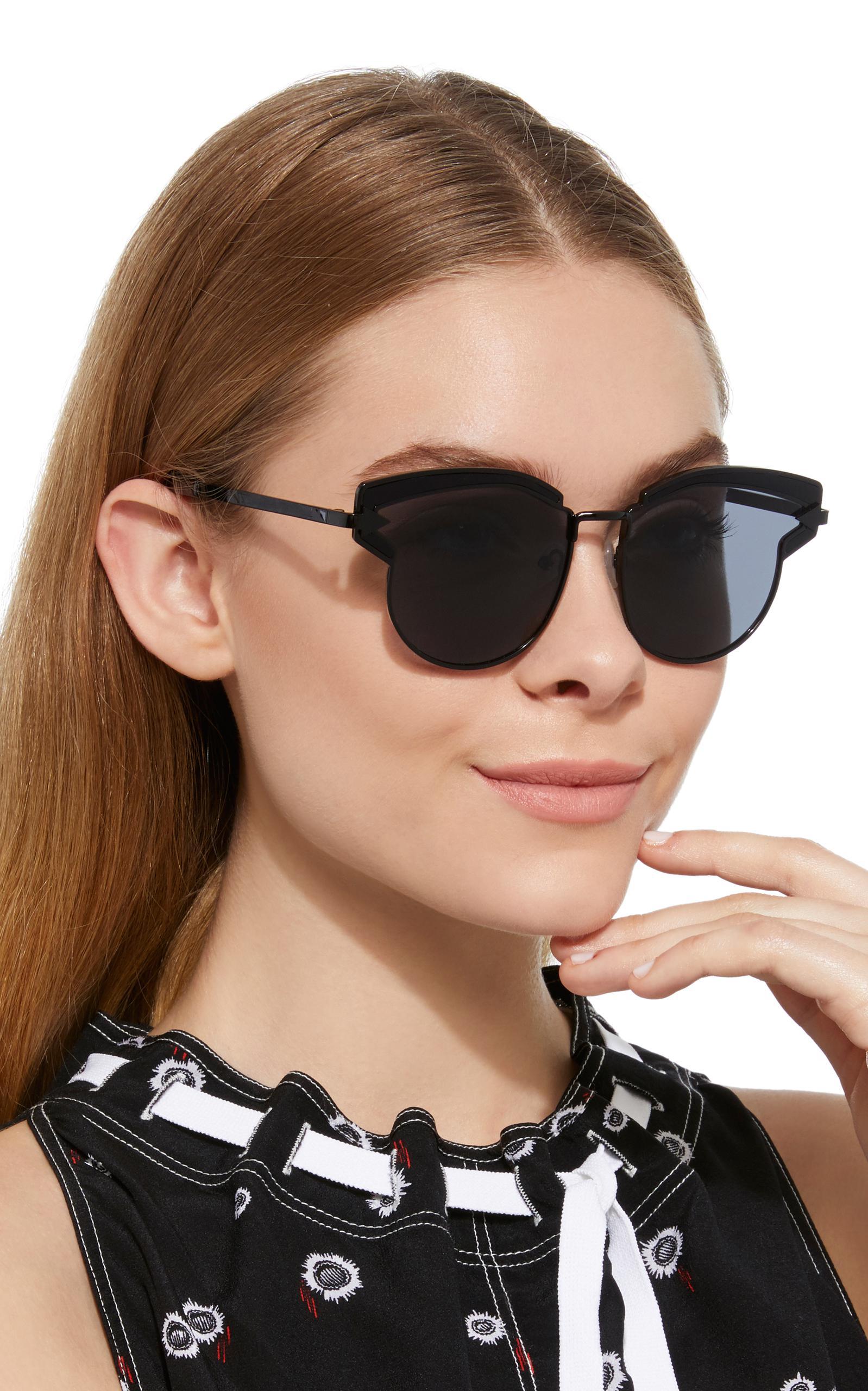 Karen Walker Woman D-frame Acetate And Silver-tone Sunglasses Silver Size Karen Walker PFcnQXRWS